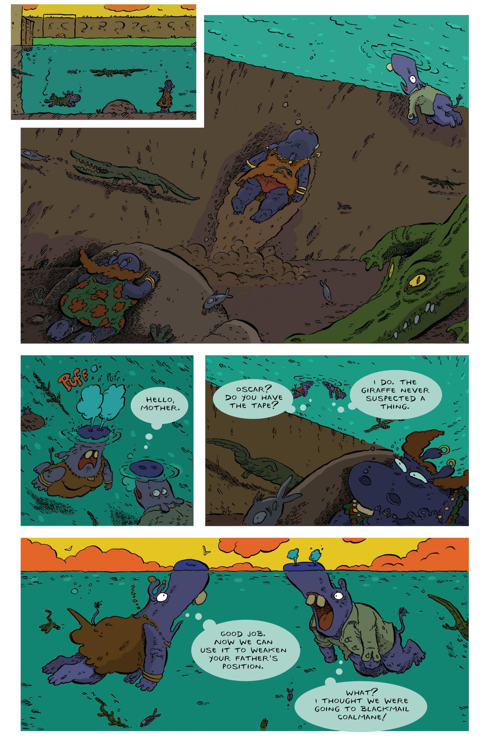 Read online Animal Noir comic -  Issue #4 - 5