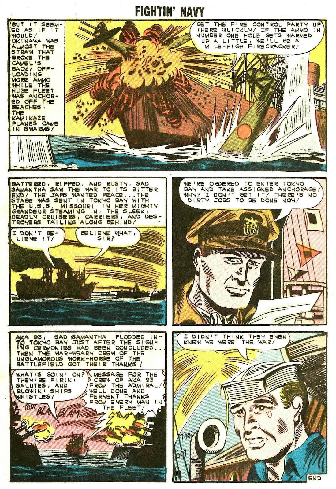 Read online Fightin' Navy comic -  Issue #107 - 24