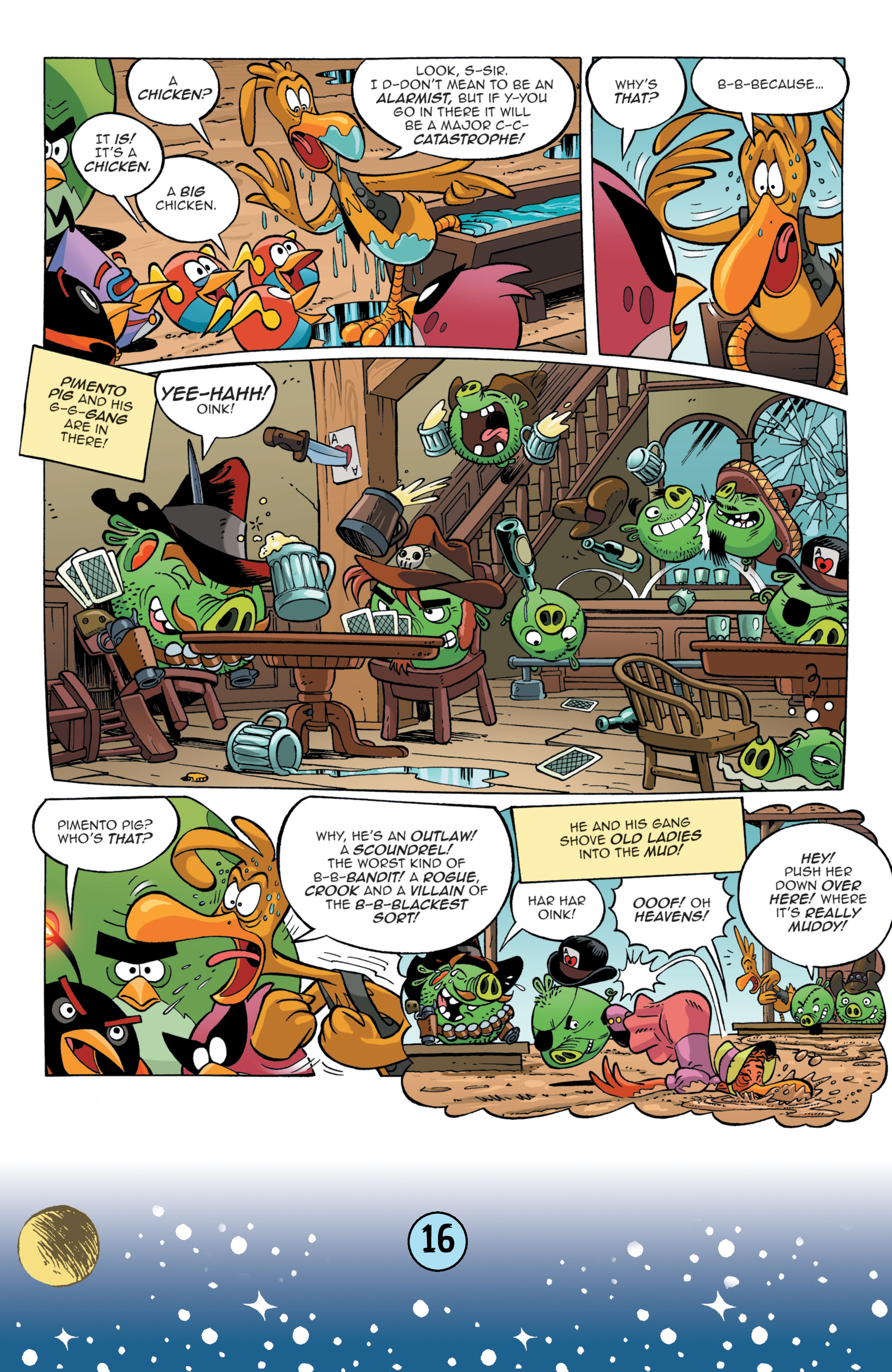 Read online Angry Birds Comics (2016) comic -  Issue #9 - 18
