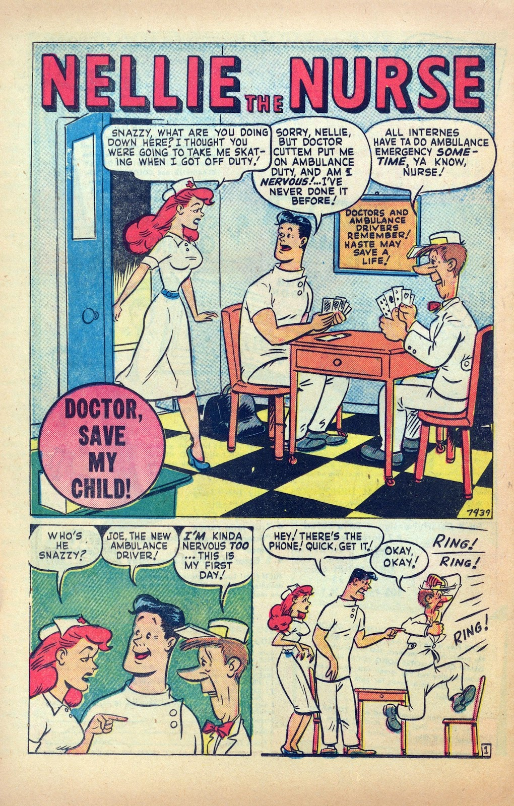 Read online Nellie The Nurse (1945) comic -  Issue #25 - 20