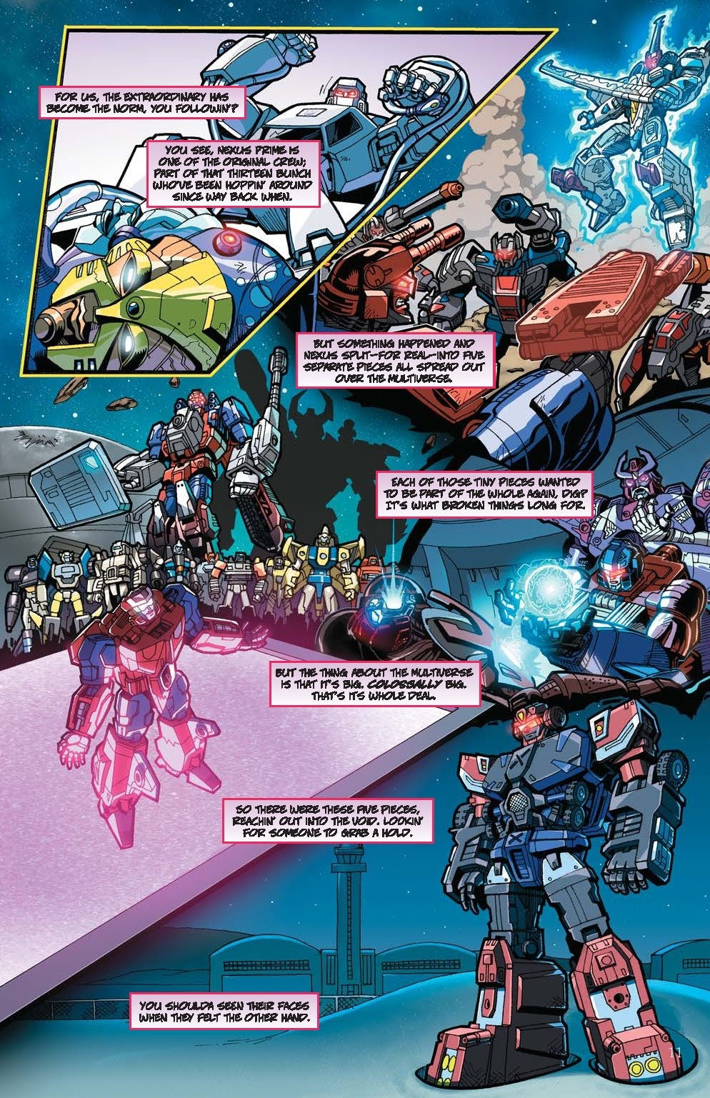 Read online Transformers: Collectors' Club comic -  Issue #31 - 11