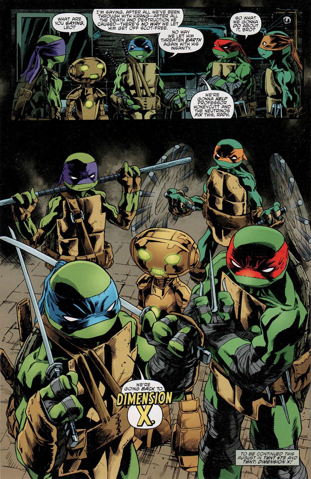 Read online Free Comic Book Day 2017 comic -  Issue # Teenage Mutant Ninja Turtles - 22