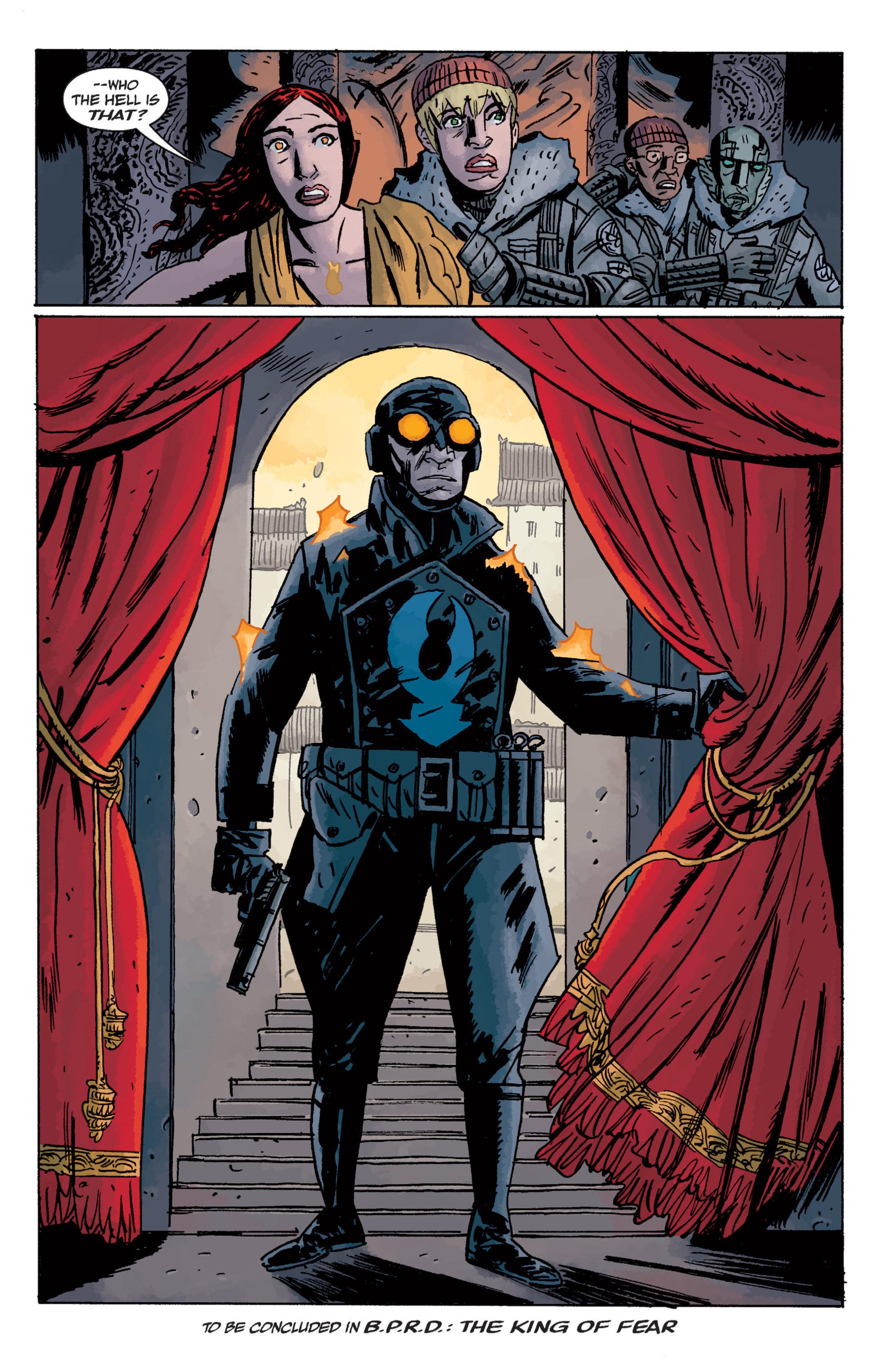 Read online B.P.R.D. (2003) comic -  Issue # TPB 11 - 128