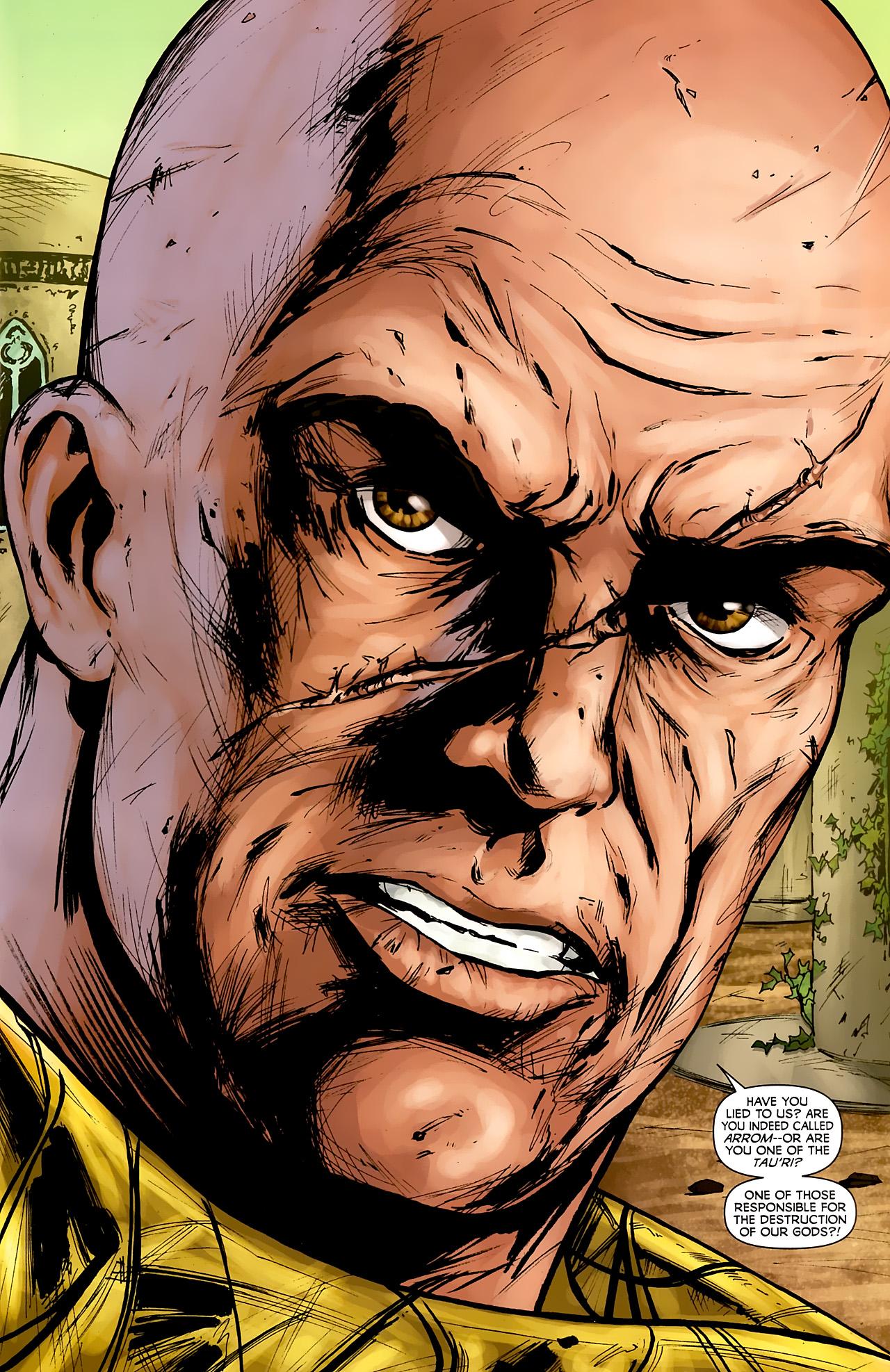 Read online Stargate: Daniel Jackson comic -  Issue #3 - 3