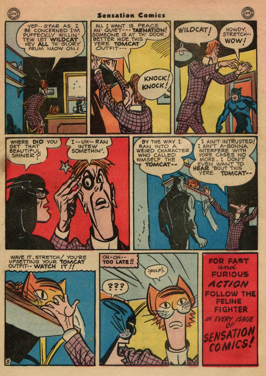 Read online Sensation (Mystery) Comics comic -  Issue #49 - 49