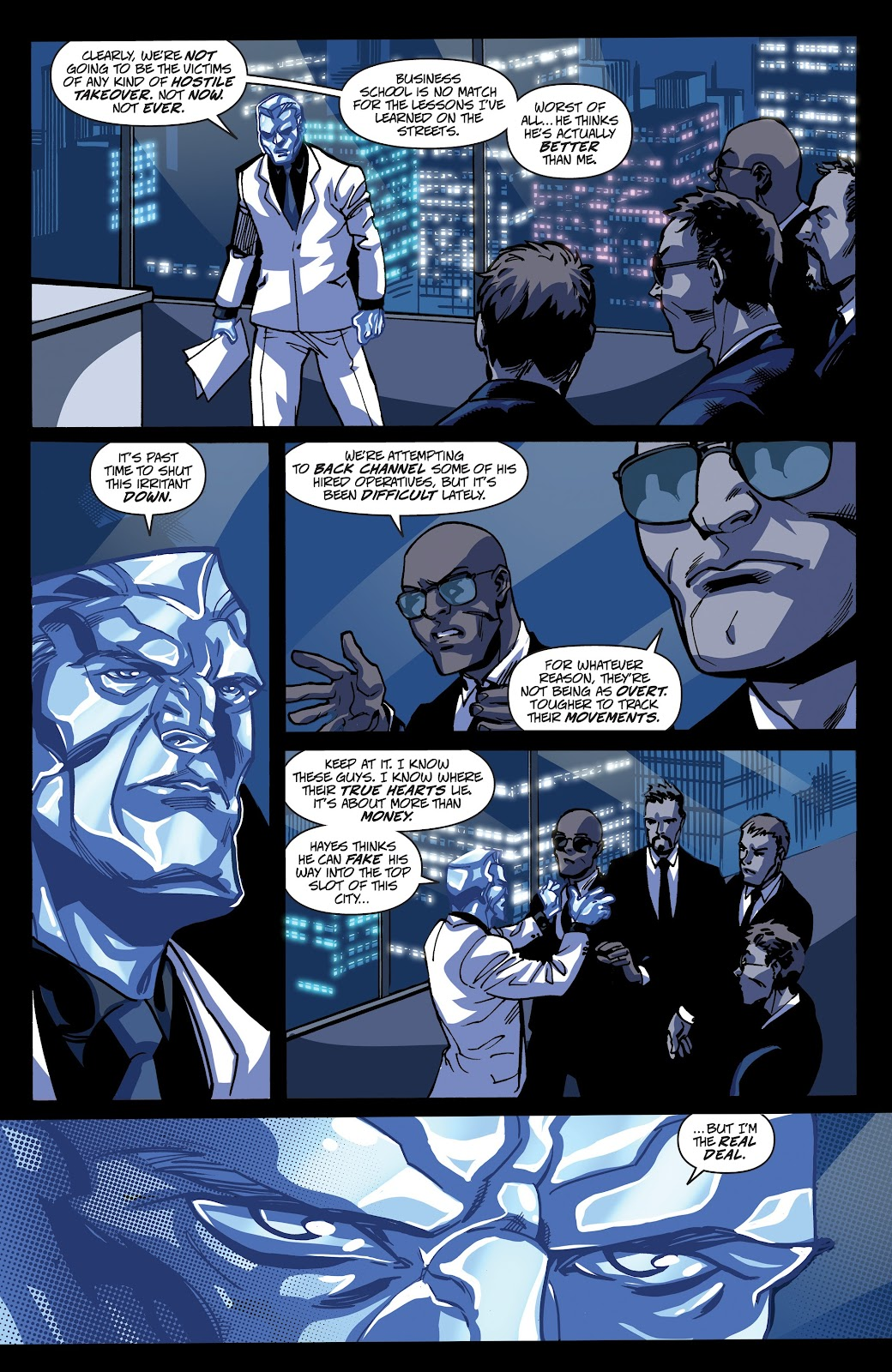 Read online Accell comic -  Issue #17 - 22
