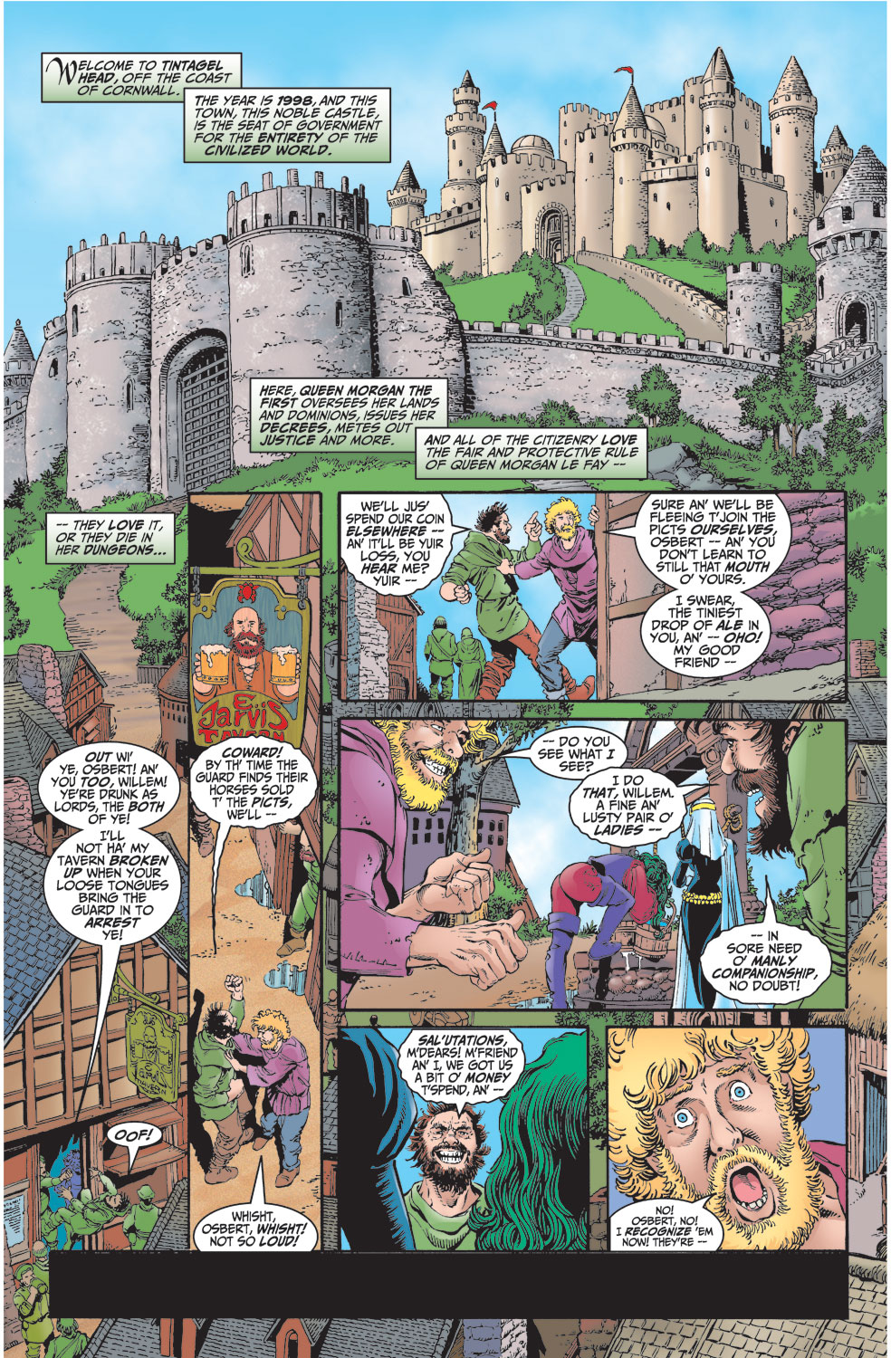 Read online Avengers (1998) comic -  Issue #2 - 2
