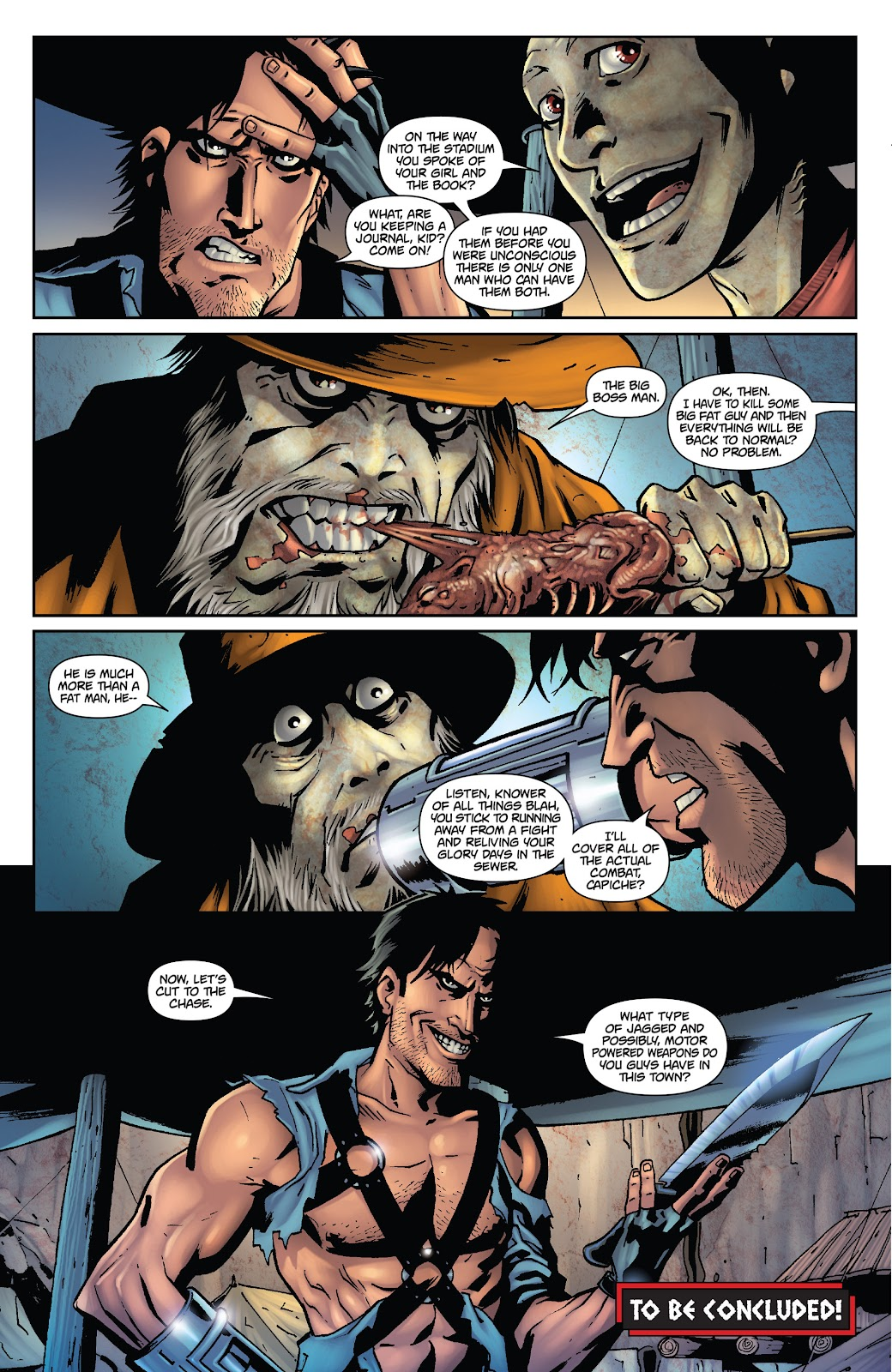 Army of Darkness: The Long Road Home issue TPB - Page 78