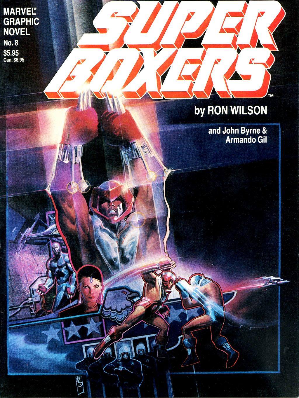 Marvel Graphic Novel 8_-_Super_Boxers Page 1