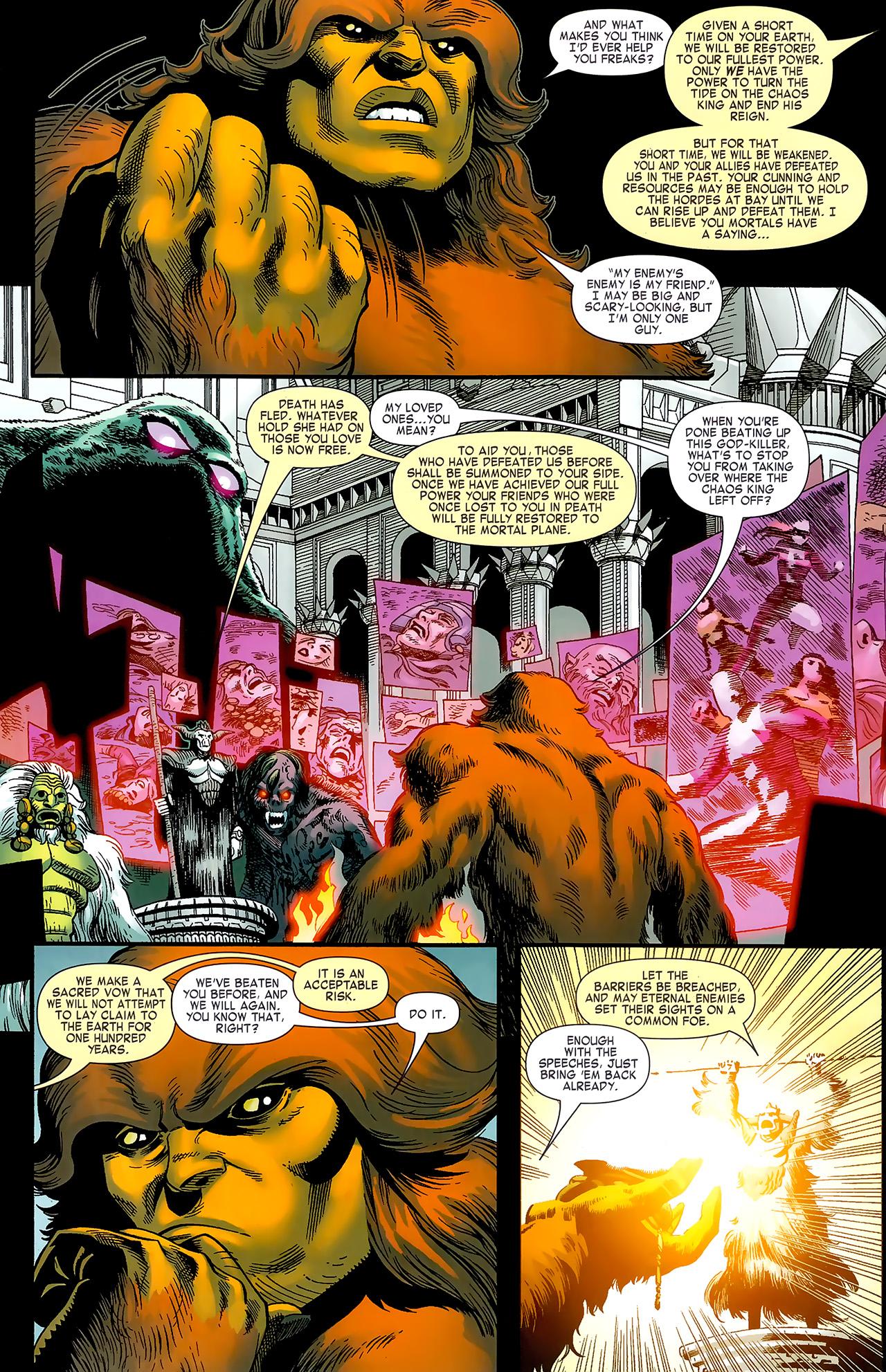 Read online Chaos War: Alpha Flight comic -  Issue # Full - 6