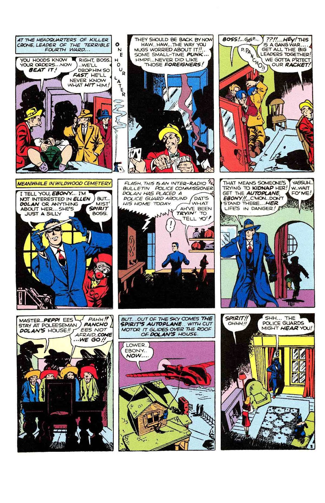 Read online Will Eisner's The Spirit Archives comic -  Issue # TPB 2 (Part 1) - 19