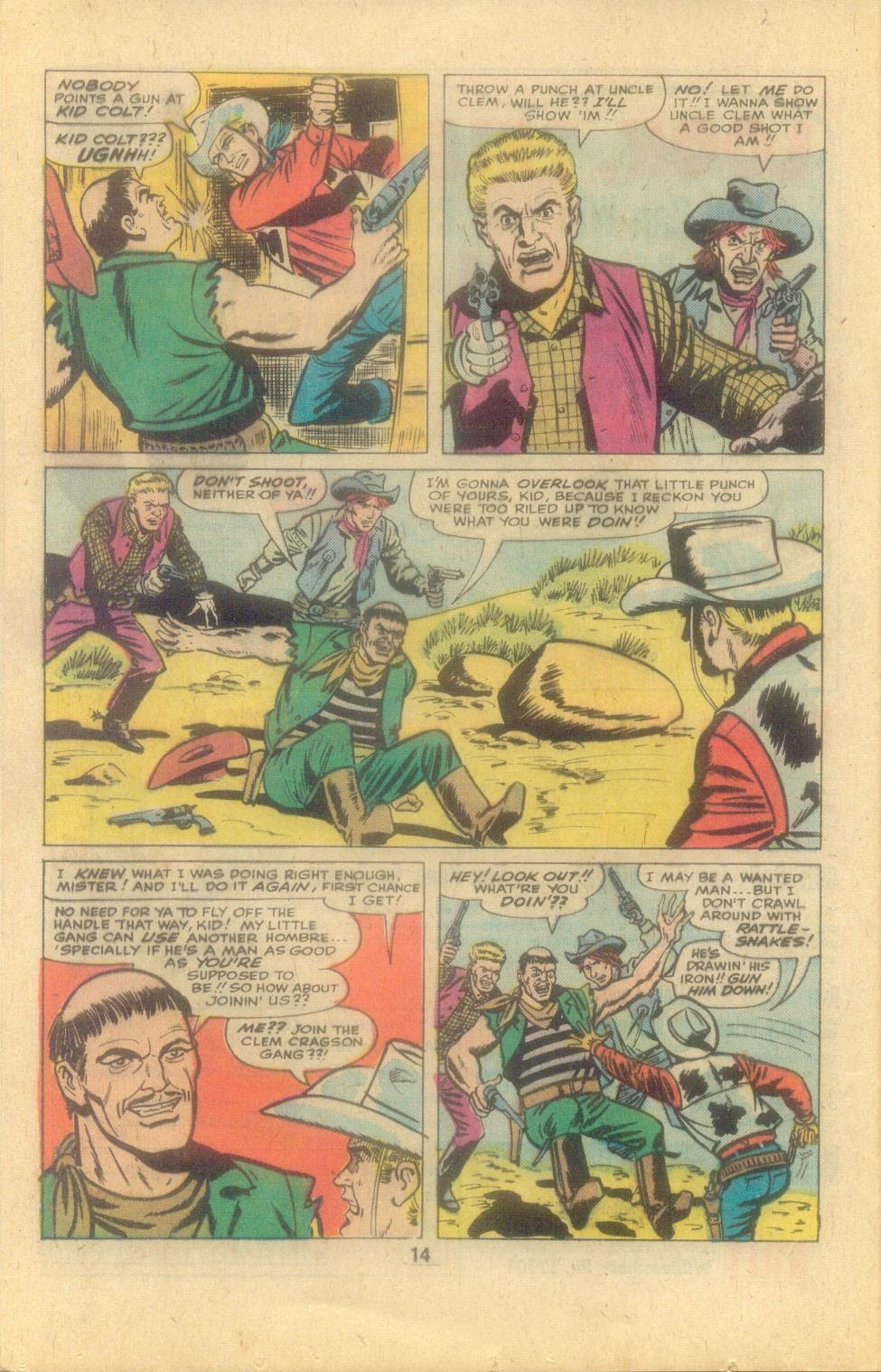 Kid Colt Outlaw issue 194 - Page 16