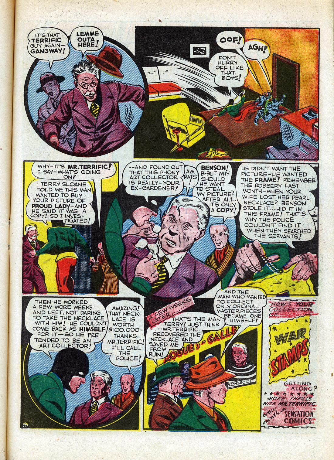 Read online Sensation (Mystery) Comics comic -  Issue #26 - 47
