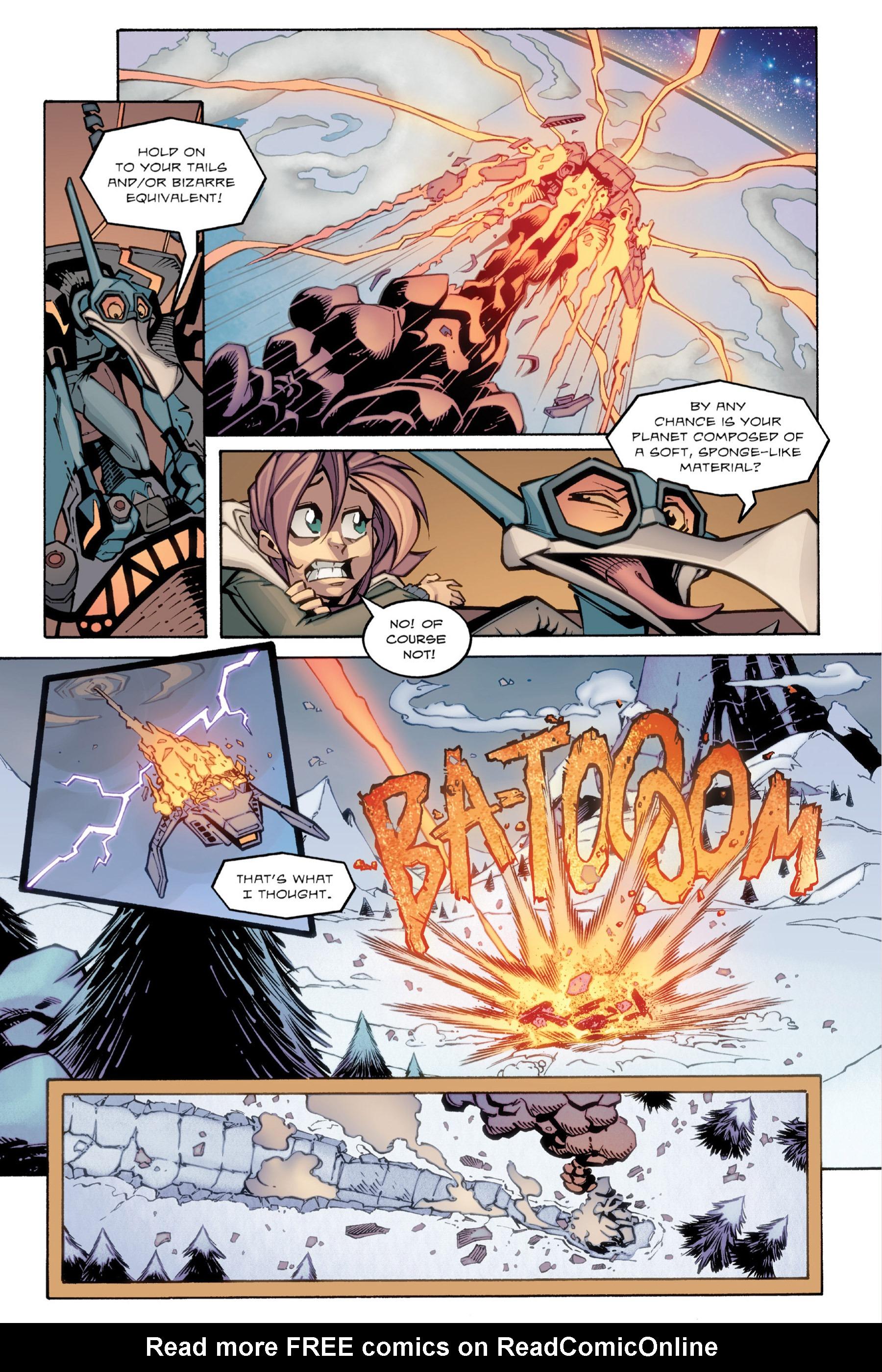 Read online Rexodus comic -  Issue # Full - 84