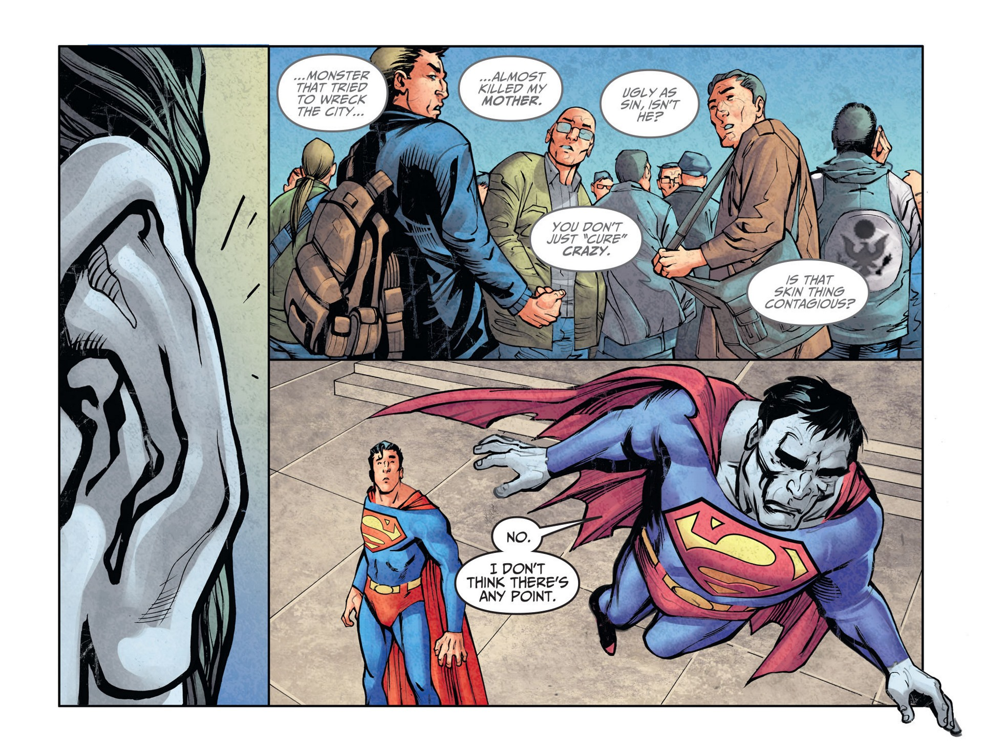 Read online Adventures of Superman [I] comic -  Issue #26 - 12