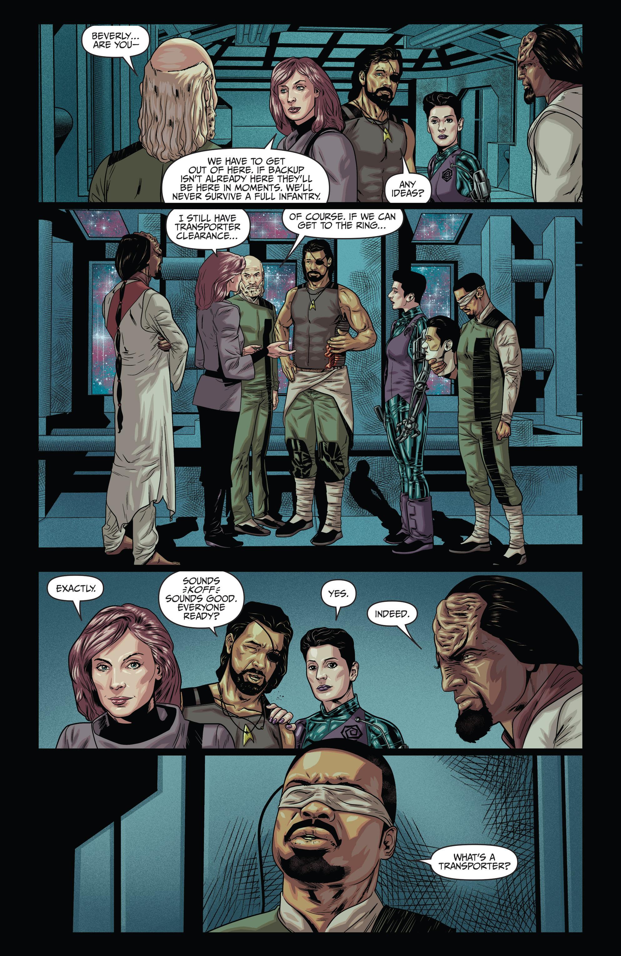 Read online Star Trek: Deviations comic -  Issue # Full - 23