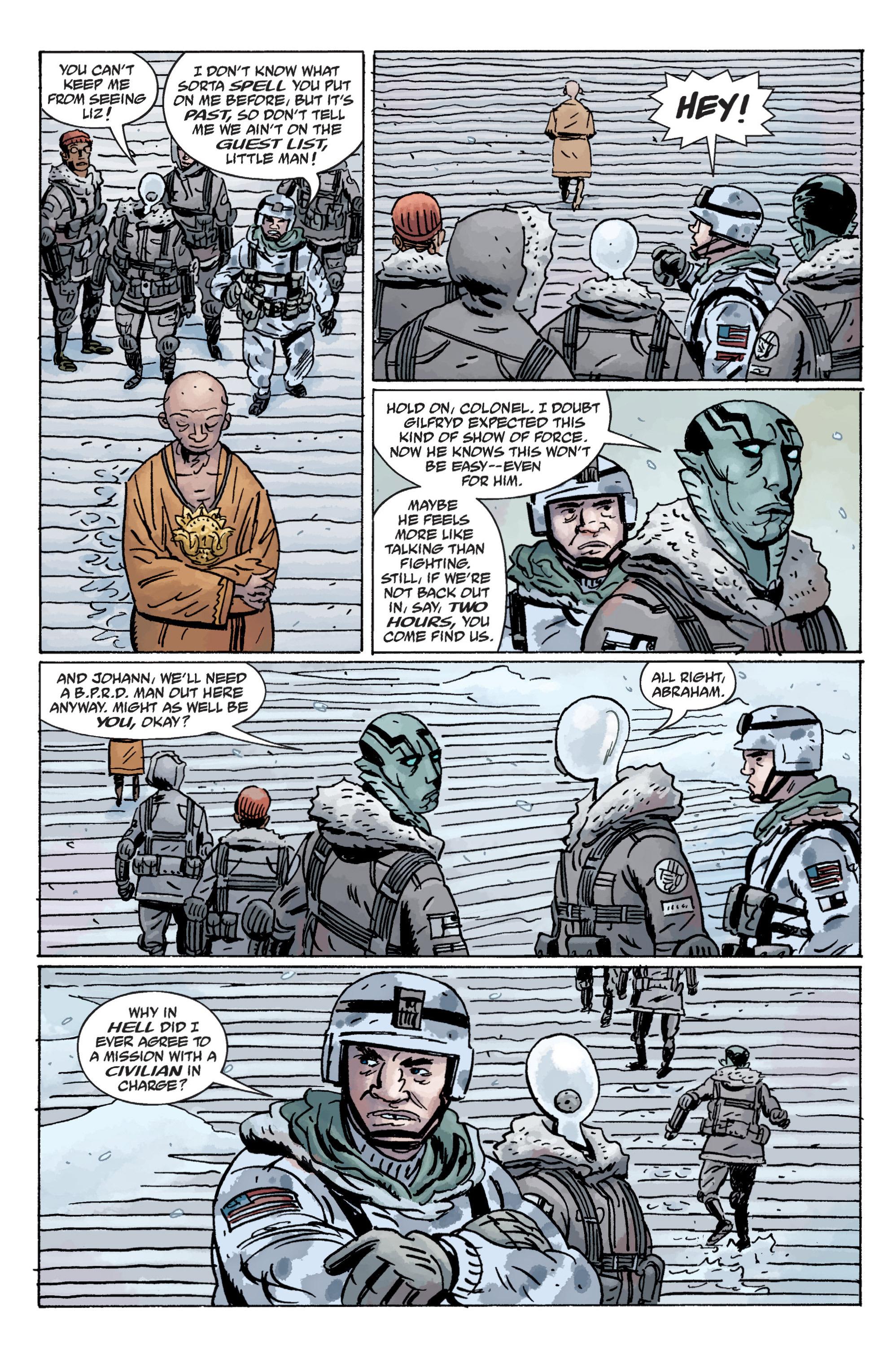 Read online B.P.R.D. (2003) comic -  Issue # TPB 11 - 40