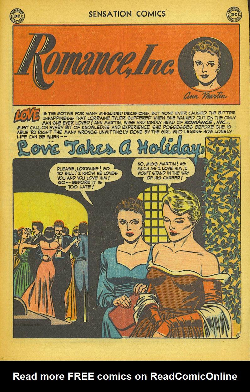 Read online Sensation (Mystery) Comics comic -  Issue #104 - 17