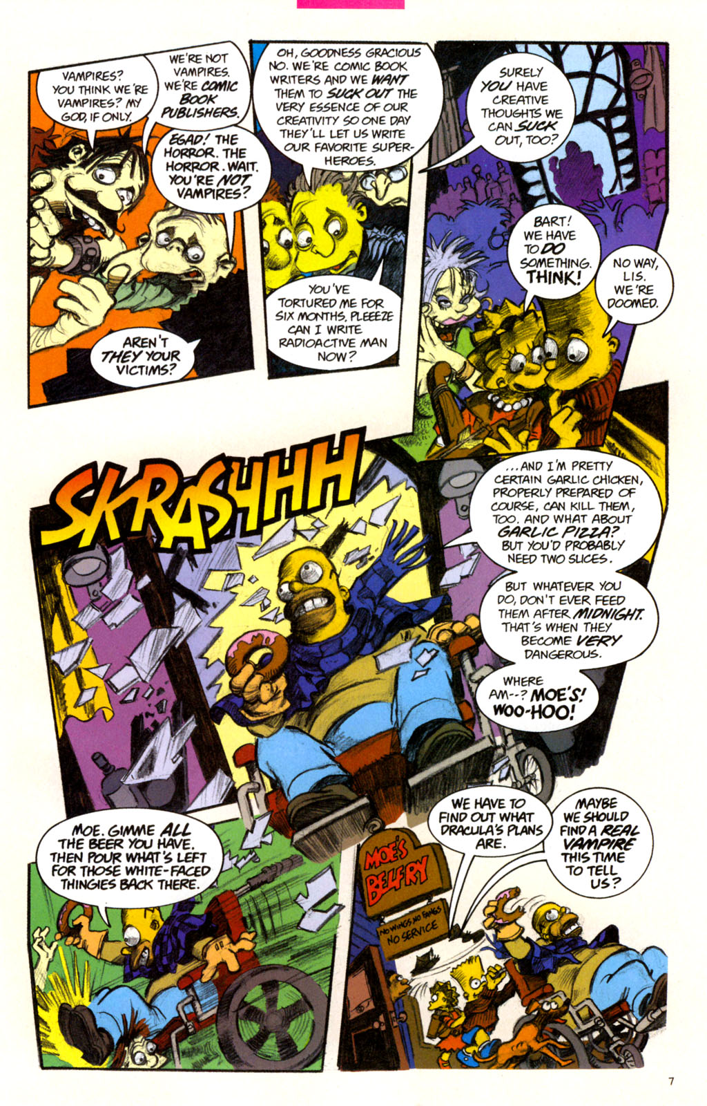 Read online Treehouse of Horror comic -  Issue #11 - 10