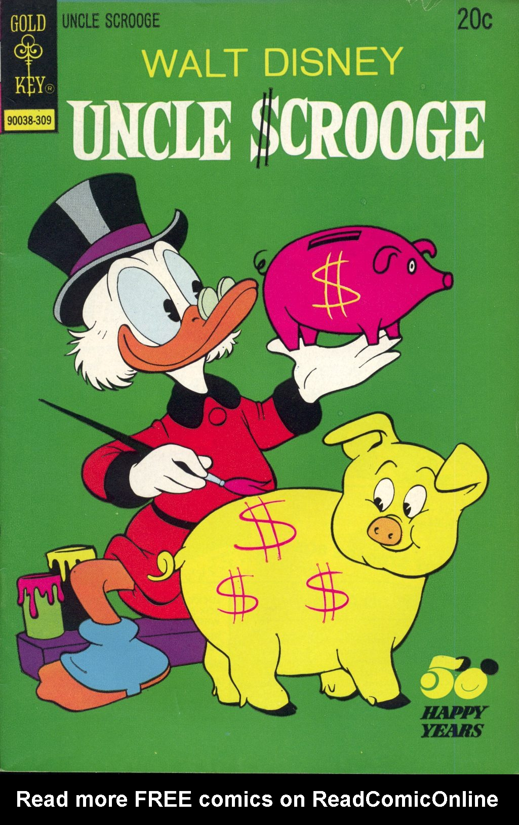 Read online Uncle Scrooge (1953) comic -  Issue #107 - 1