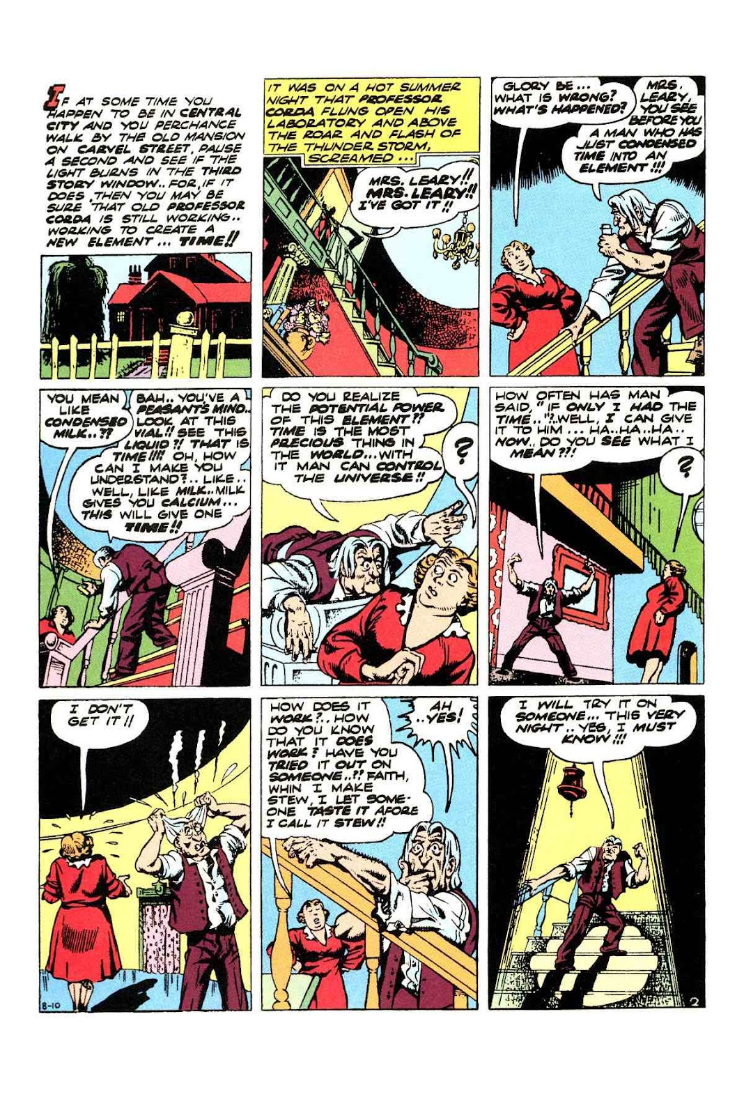 Read online Will Eisner's The Spirit Archives comic -  Issue # TPB 3 (Part 1) - 43