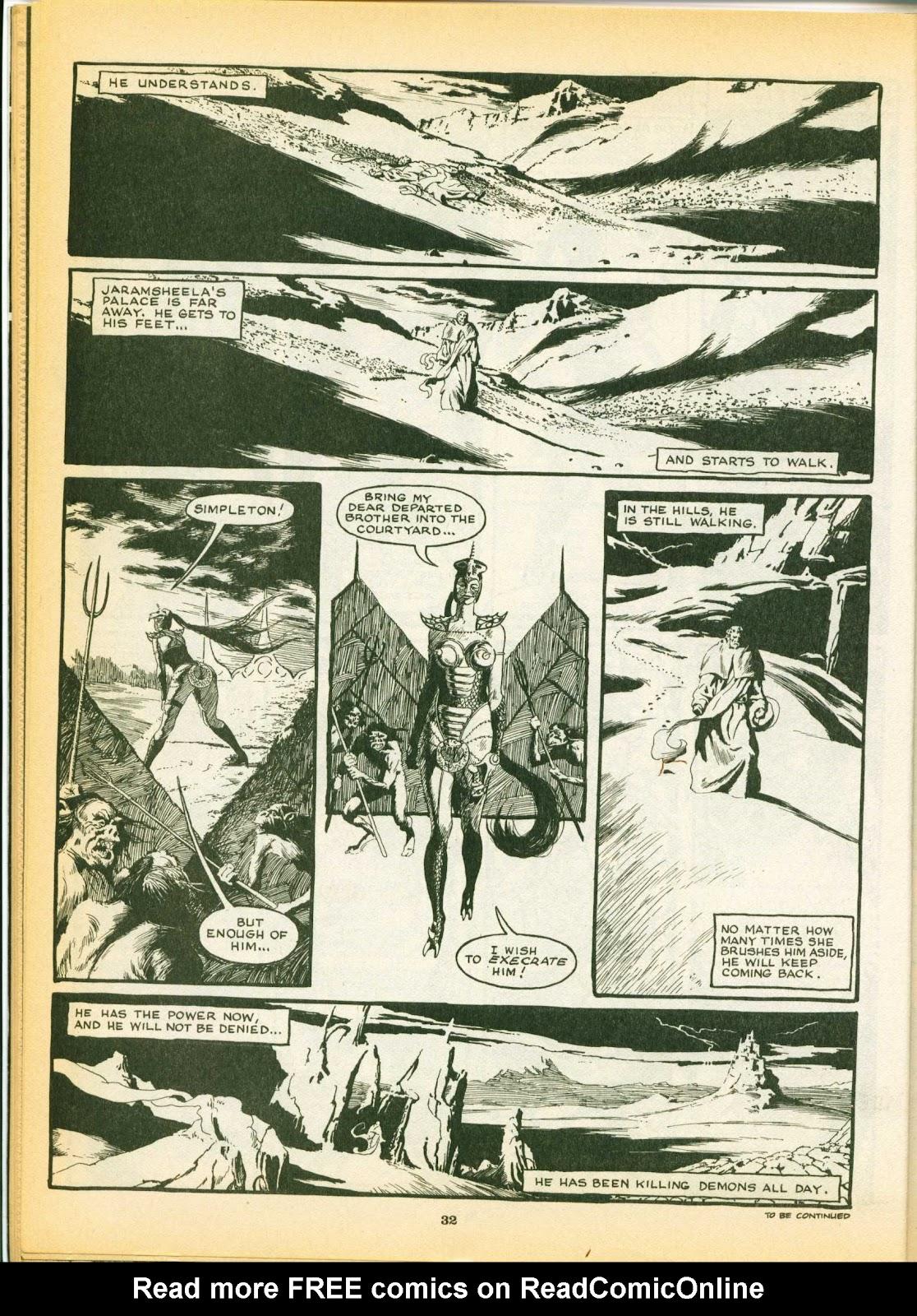 Warrior Issue #8 #9 - English 32