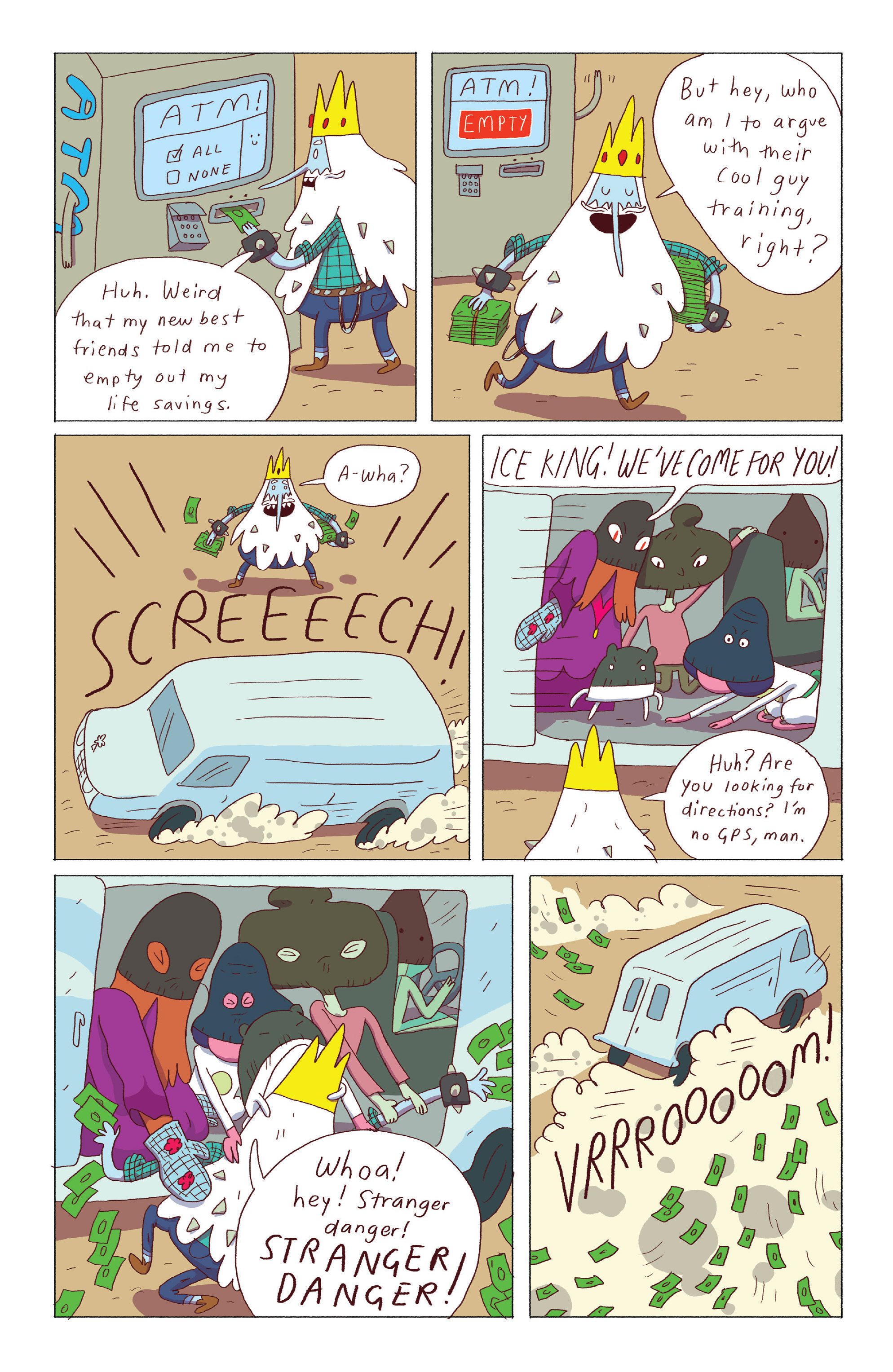 Read online Adventure Time: Ice King comic -  Issue #3 - 20