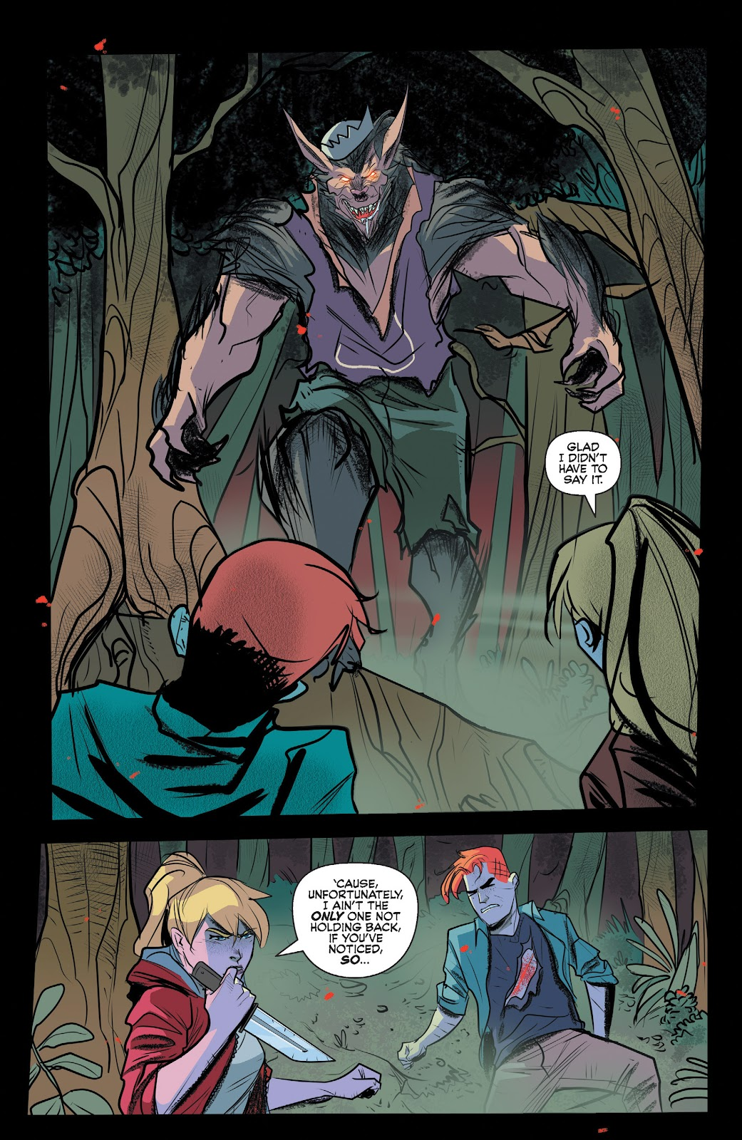 Read online Jughead The Hunger comic -  Issue #13 - 9