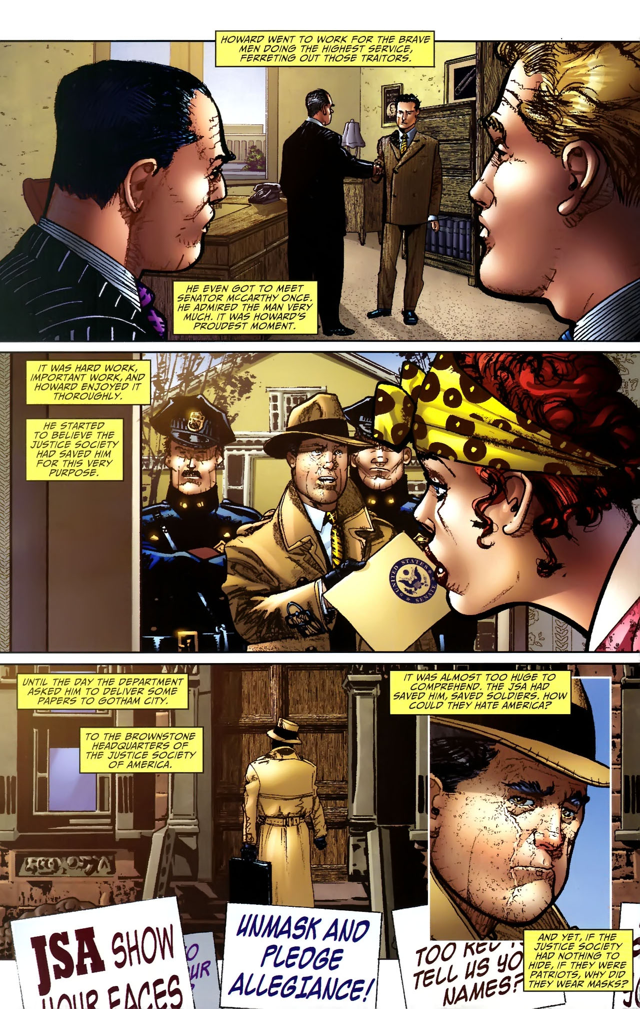 Read online JSA 80-Page Giant 2011 comic -  Issue # Full - 66