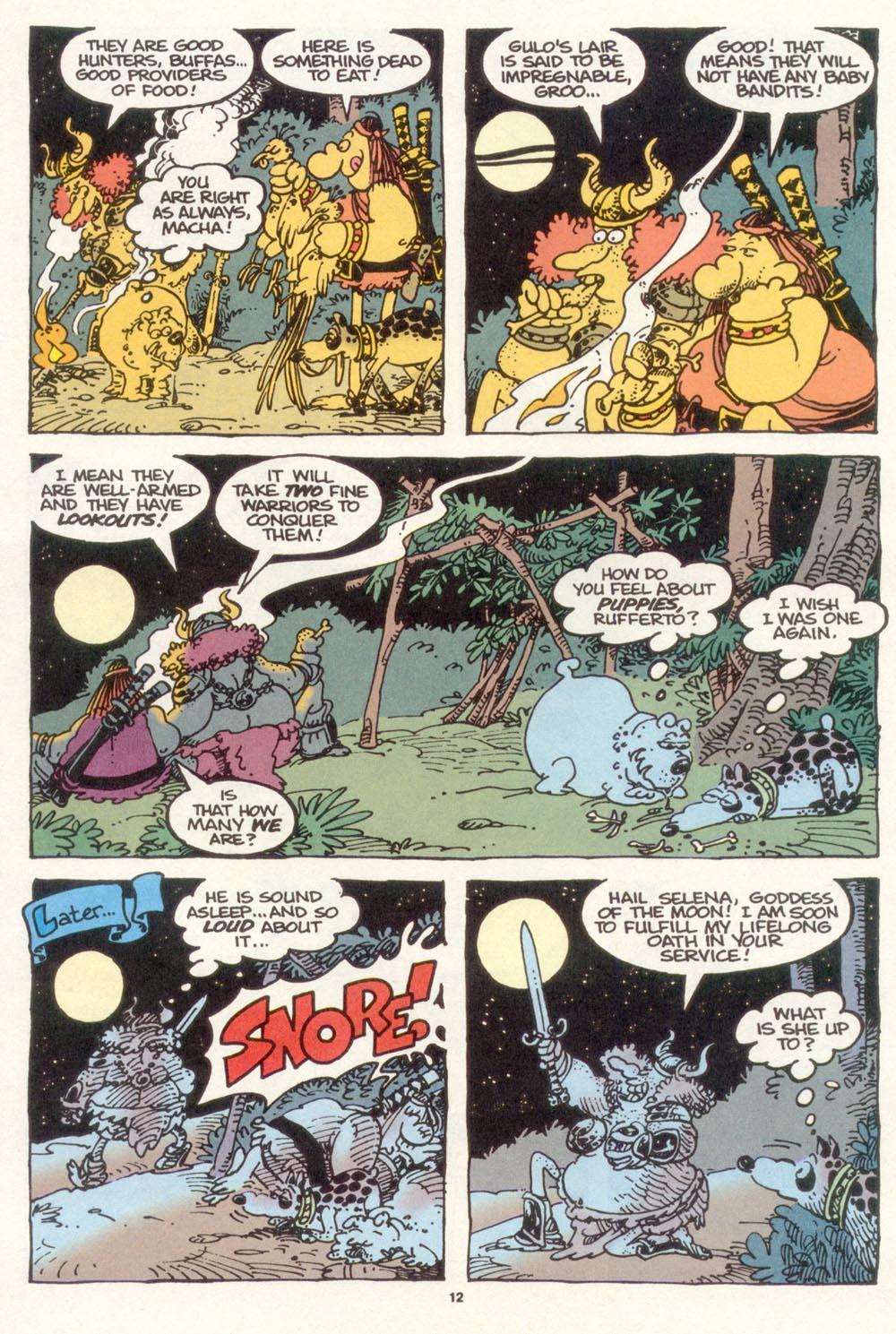 Read online Sergio Aragonés Groo the Wanderer comic -  Issue #117 - 14