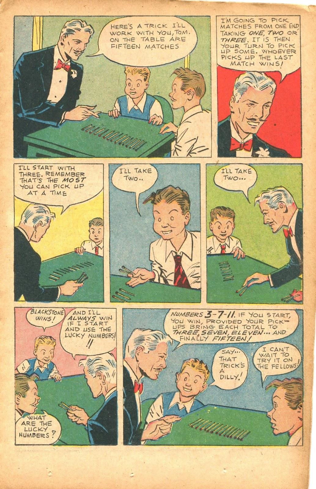 Read online Super-Magician Comics comic -  Issue #35 - 19