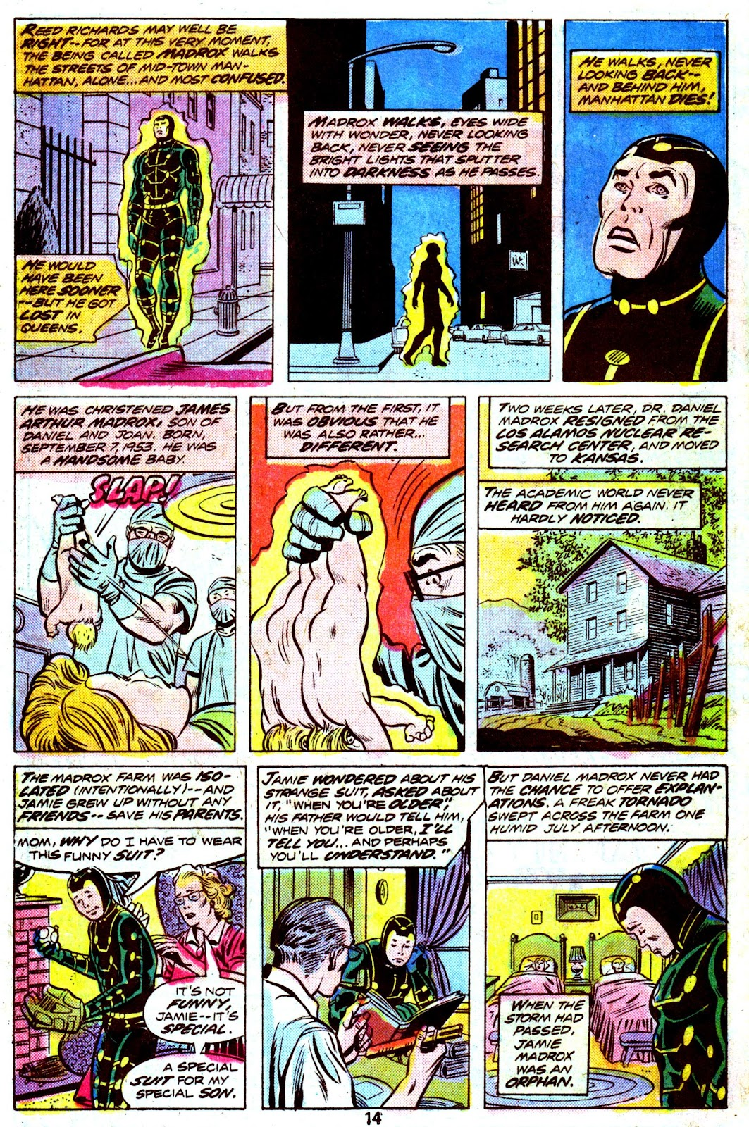 Giant-Size Fantastic Four issue 4 - Page 16