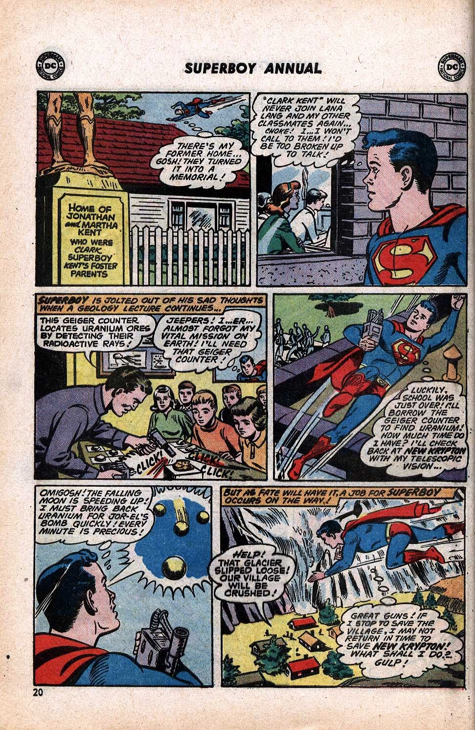 Superboy (1949) issue Annual 1 - Page 22