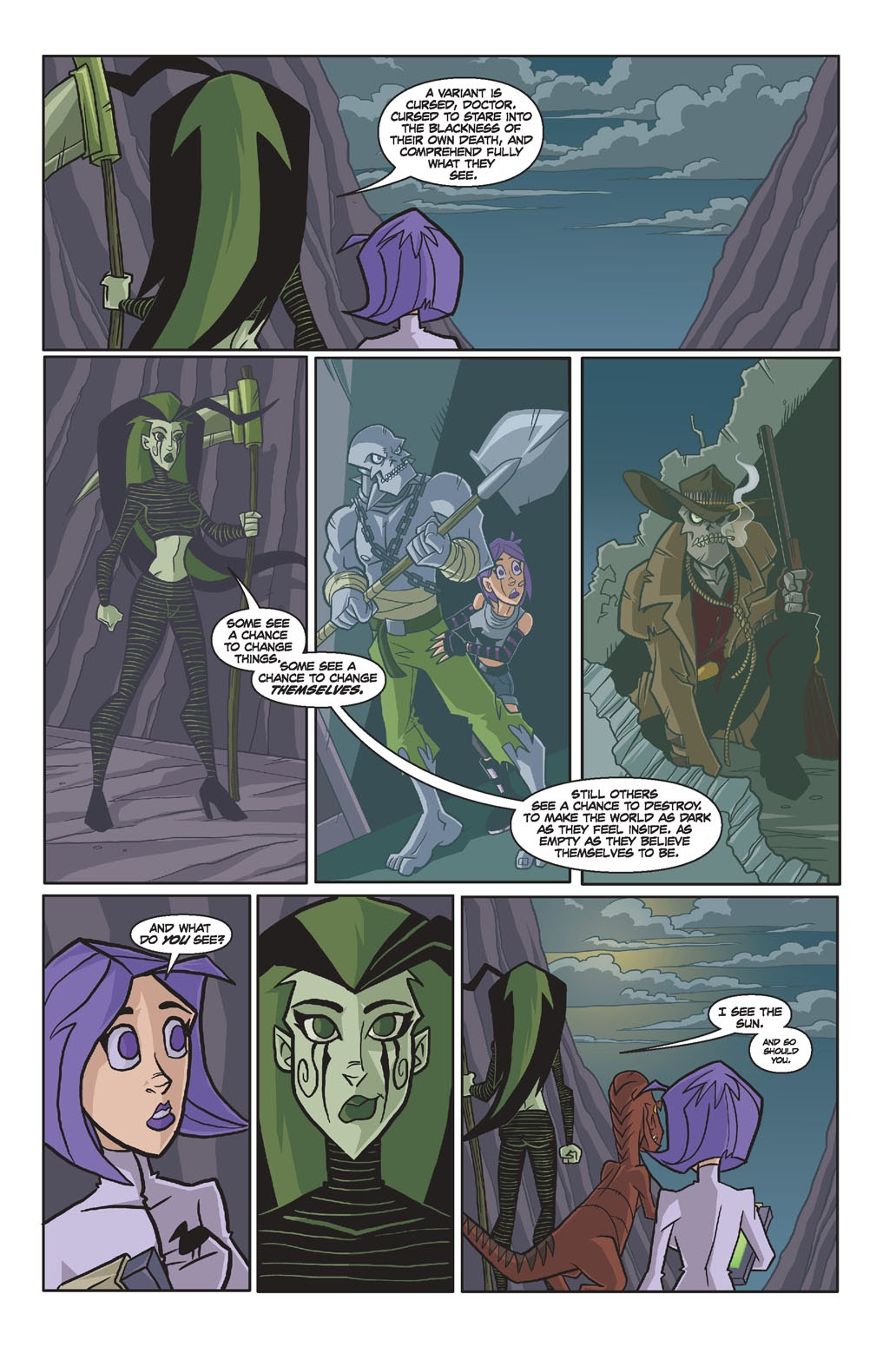 Read online Xombie Reanimated comic -  Issue #4 - 11