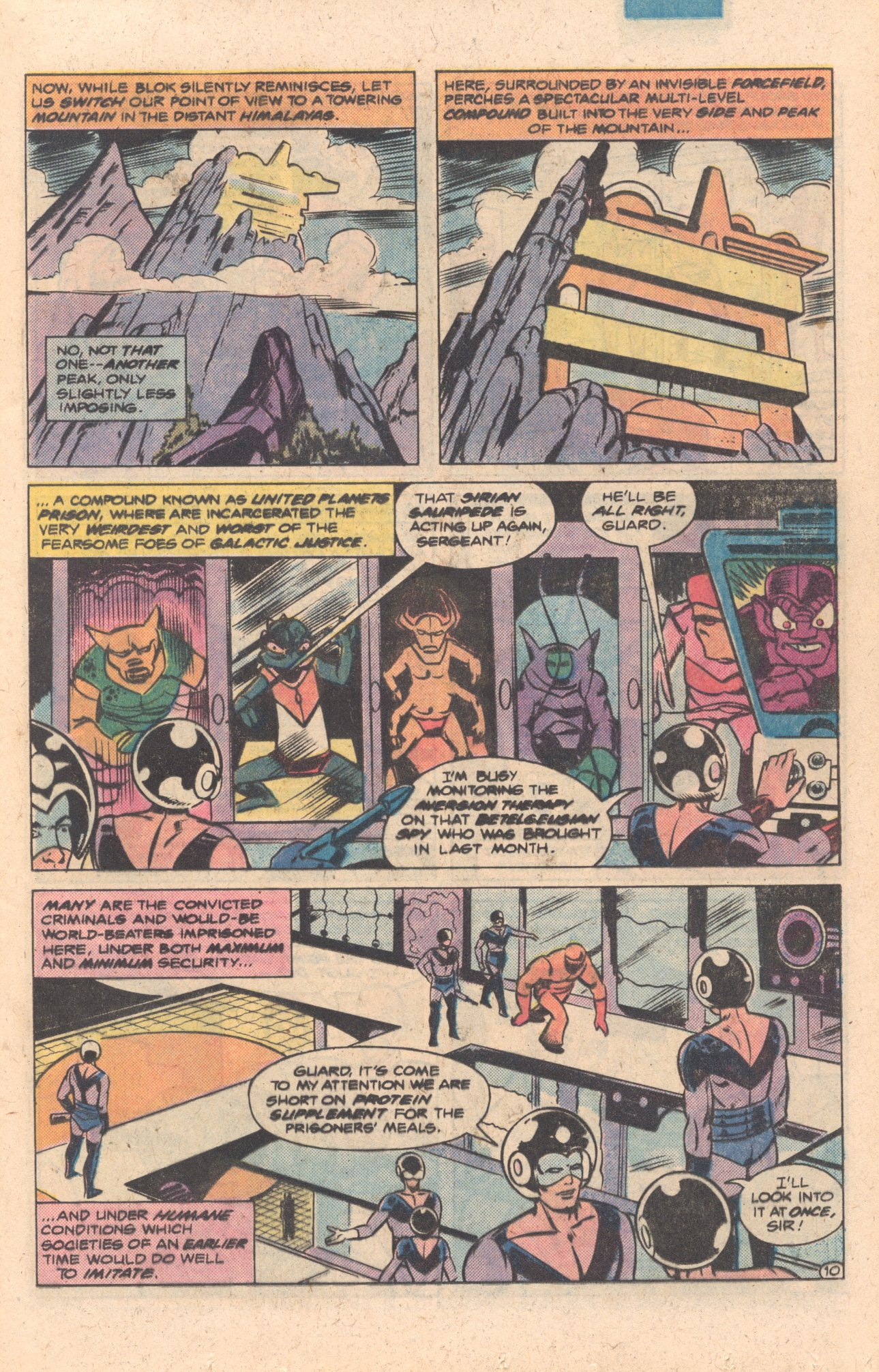 Legion of Super-Heroes (1980) 272 Page 10