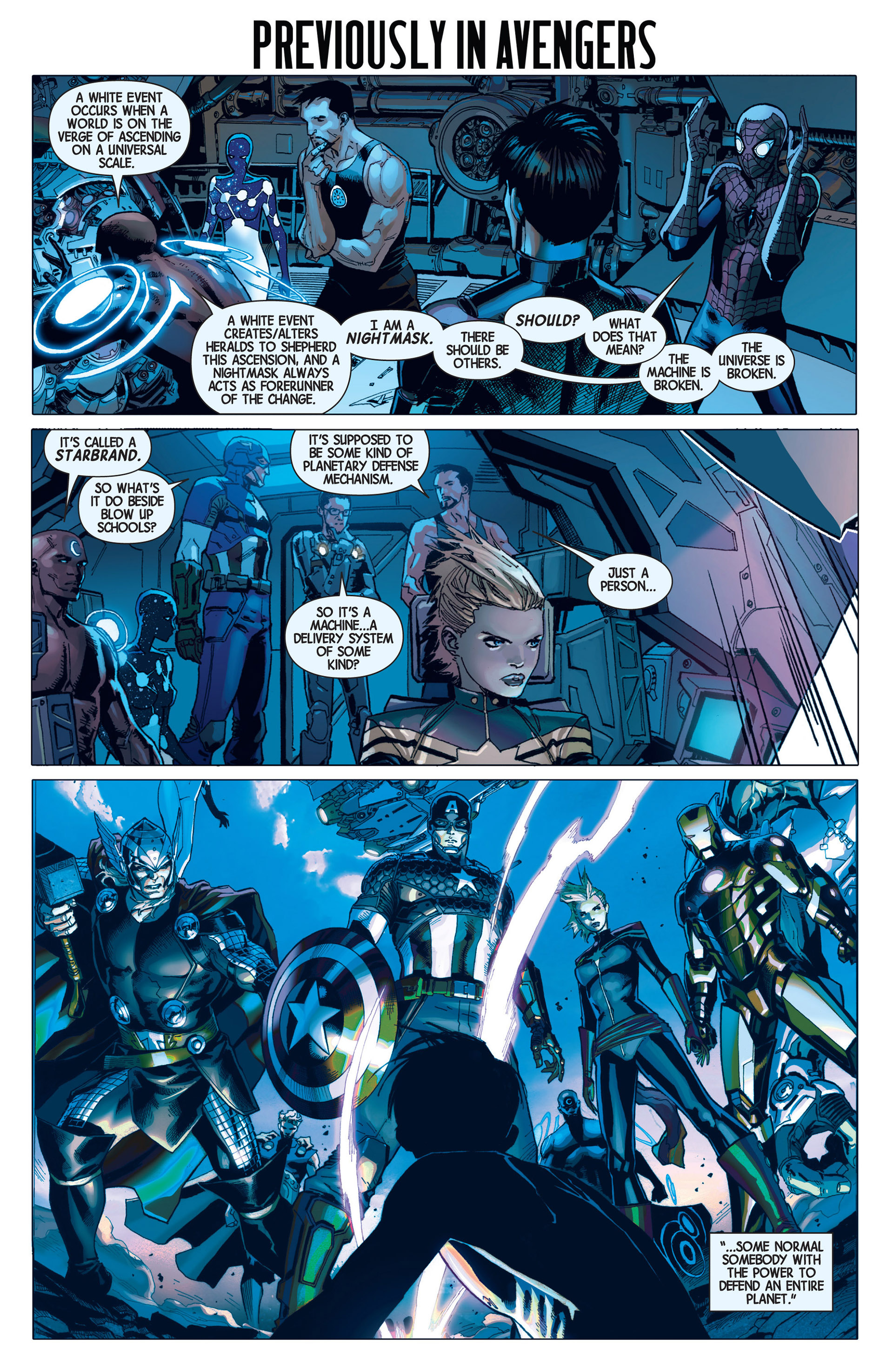 Read online Avengers (2013) comic -  Issue #8 - 2