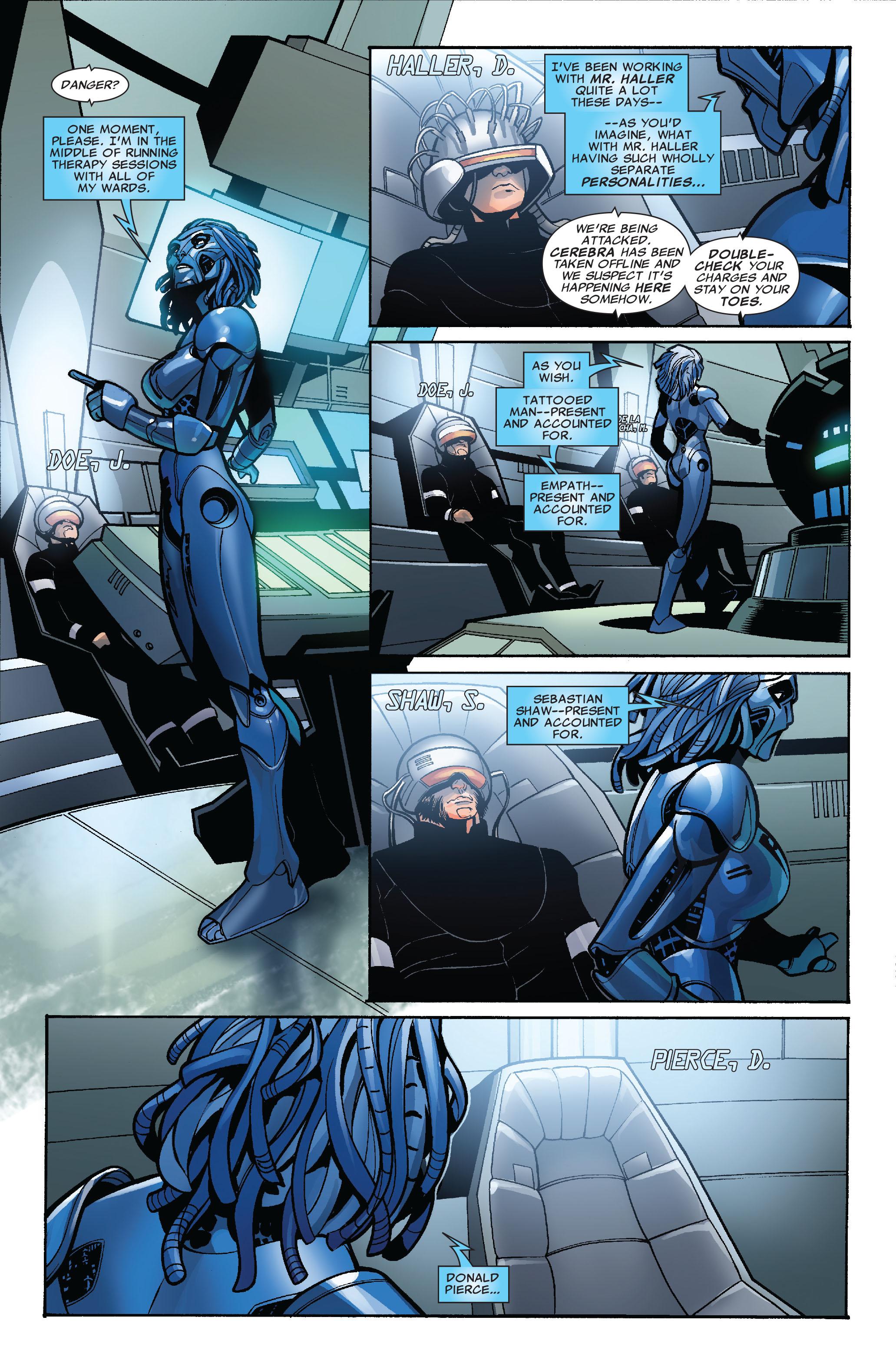 Read online Uncanny X-Men (1963) comic -  Issue #524 - 10