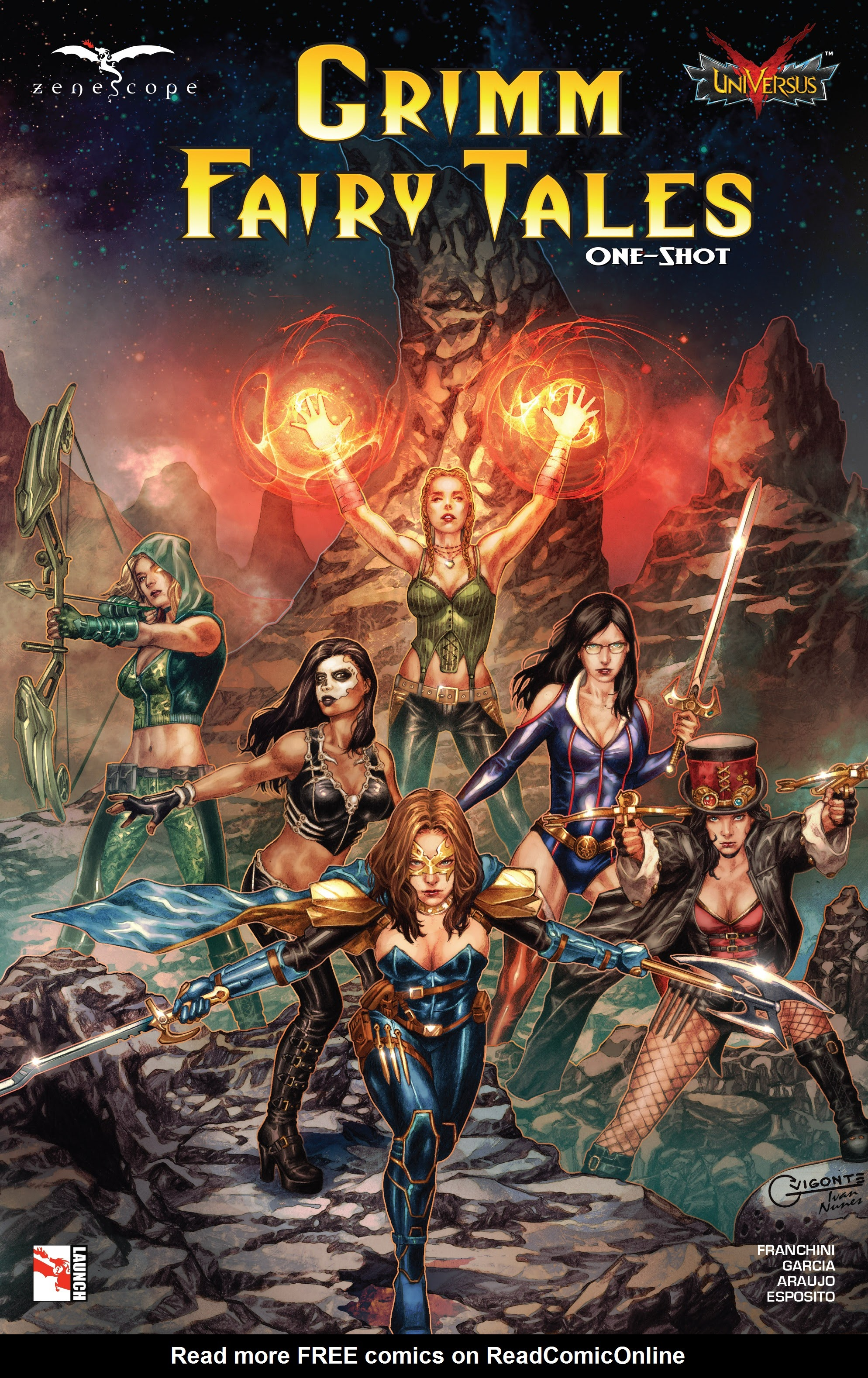Grimm Fairy Tales: Jasco One-Shot Full Page 1