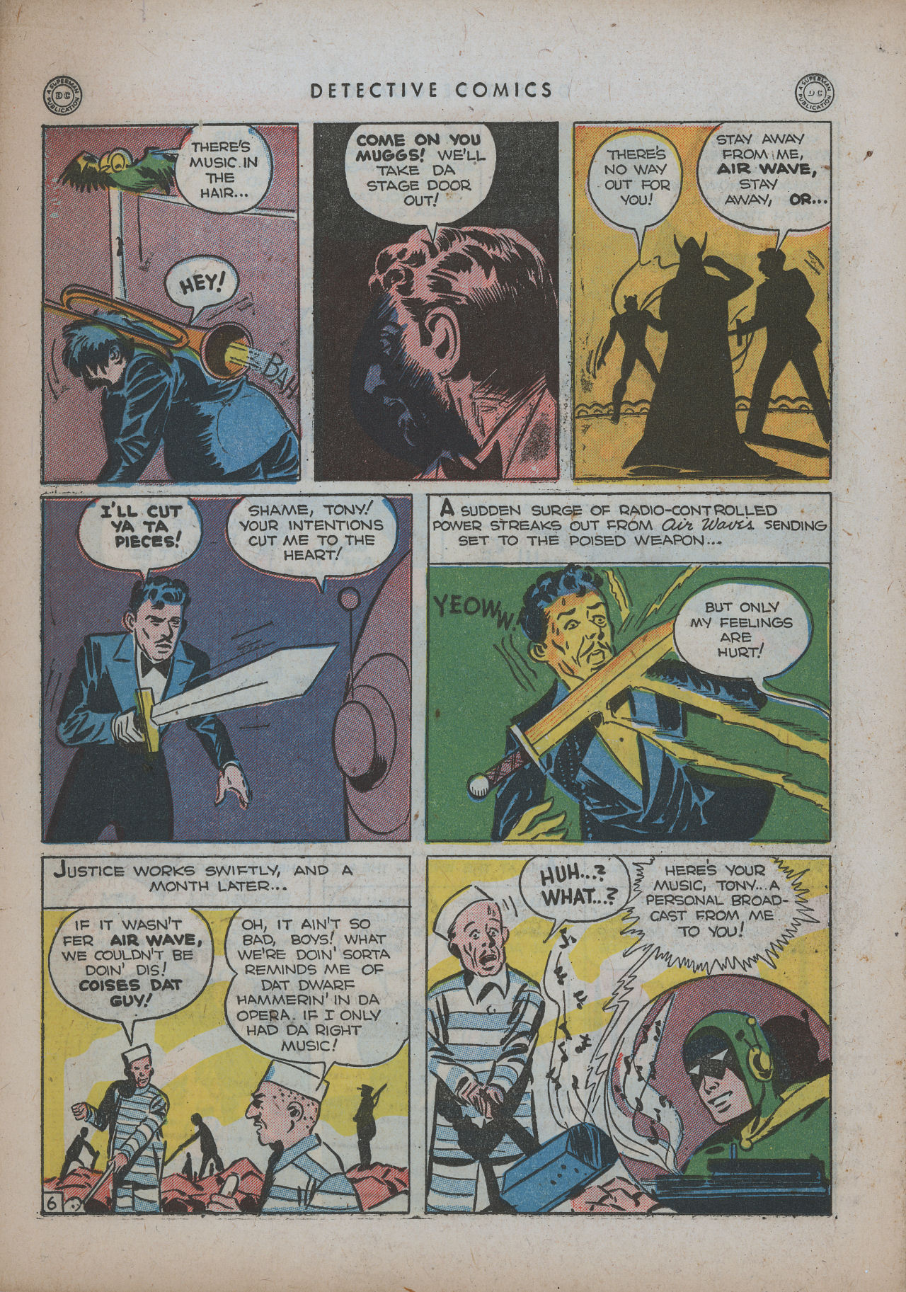 Read online Detective Comics (1937) comic -  Issue #94 - 36