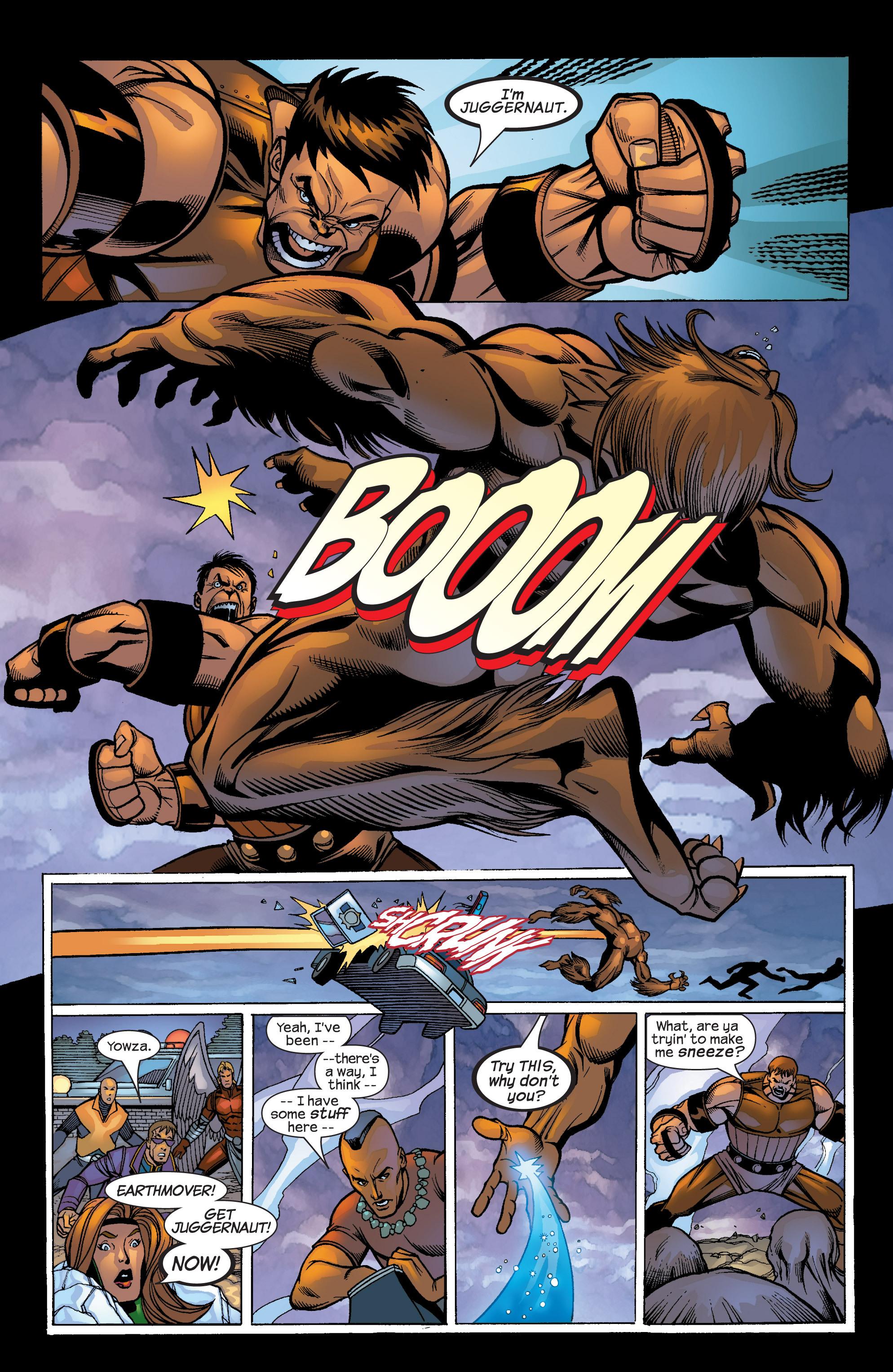 Read online Uncanny X-Men (1963) comic -  Issue #422 - 24