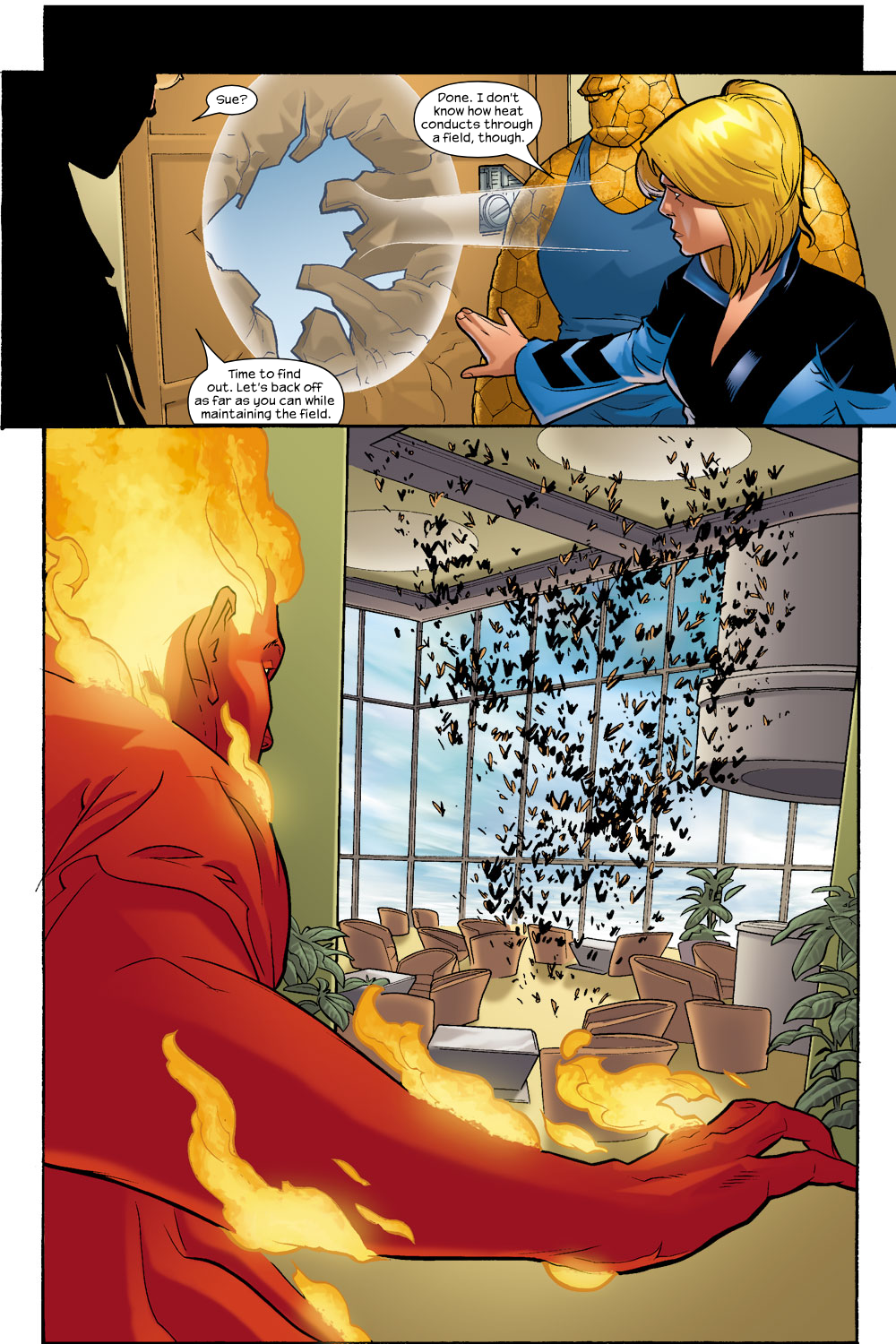Read online Ultimate Fantastic Four (2004) comic -  Issue #9 - 14