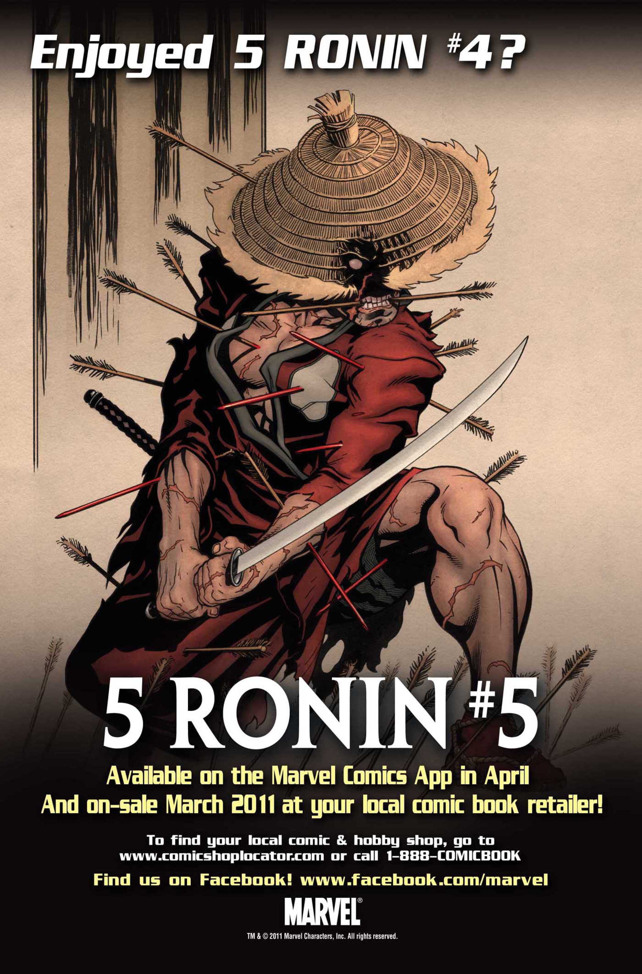 Read online 5 Ronin (2011) comic -  Issue #4 - 27