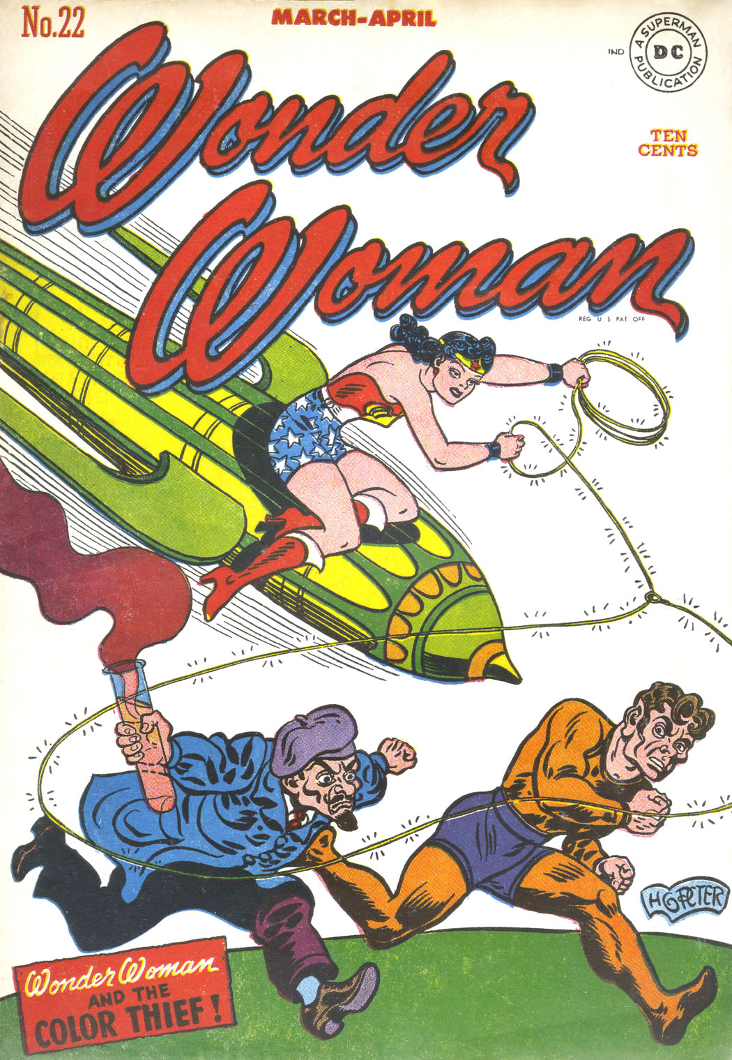 Read online Wonder Woman (1942) comic -  Issue #22 - 1