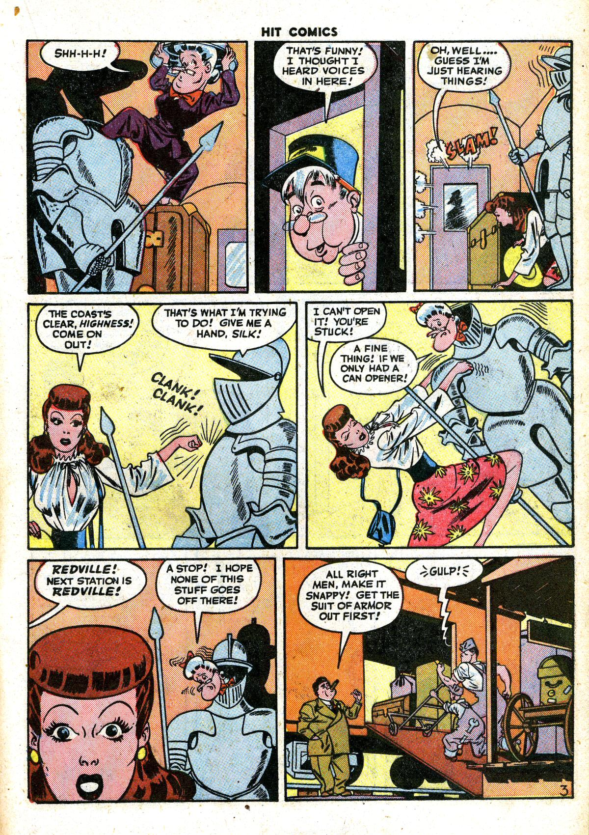 Read online Hit Comics comic -  Issue #41 - 27