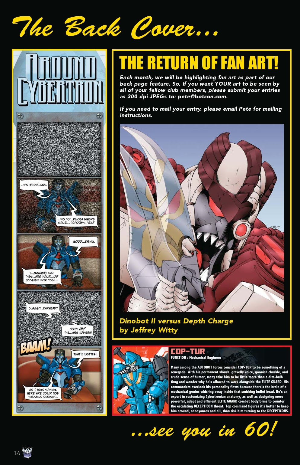 Read online Transformers: Collectors' Club comic -  Issue #31 - 16