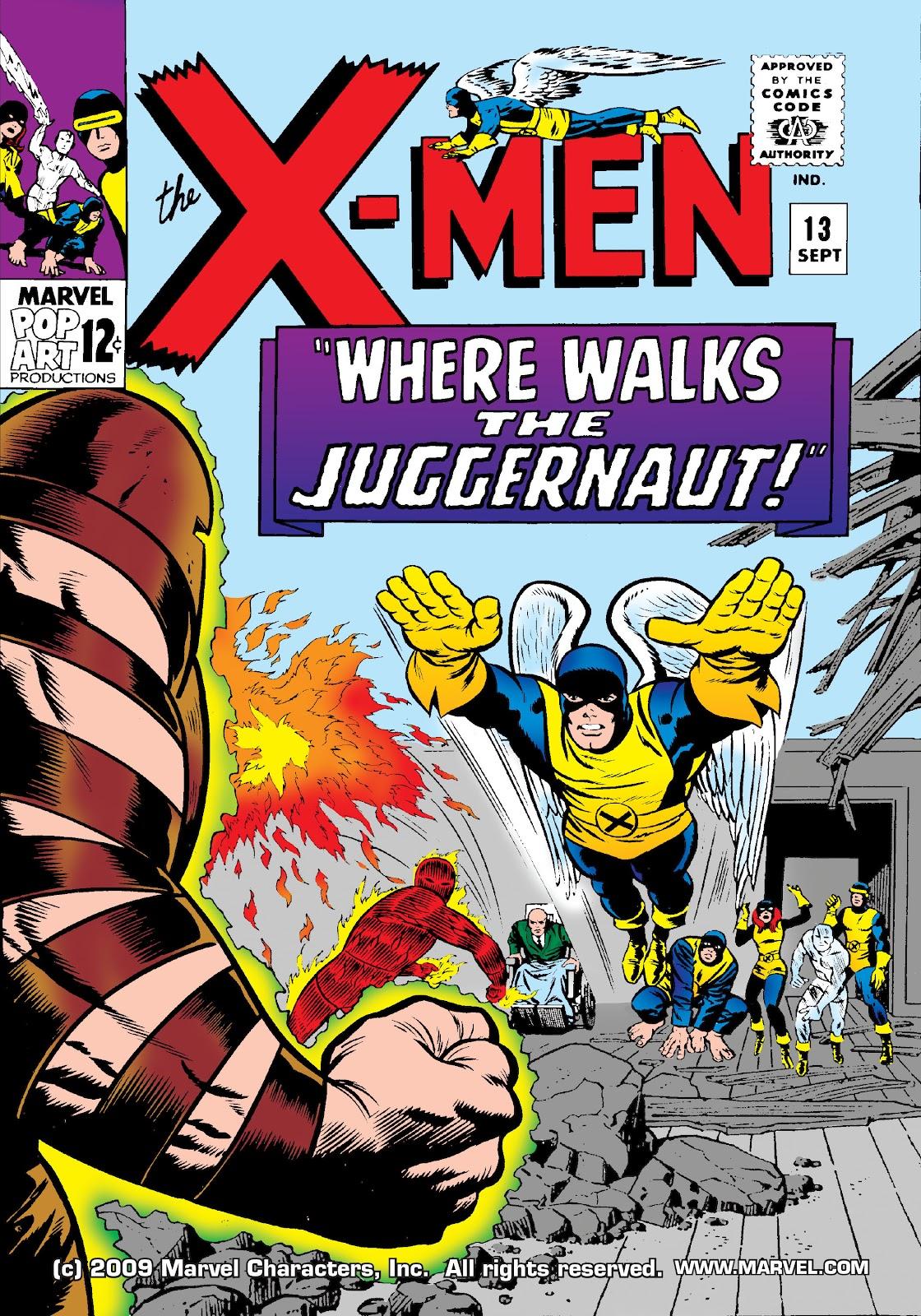 Uncanny X-Men (1963) issue 13 - Page 1