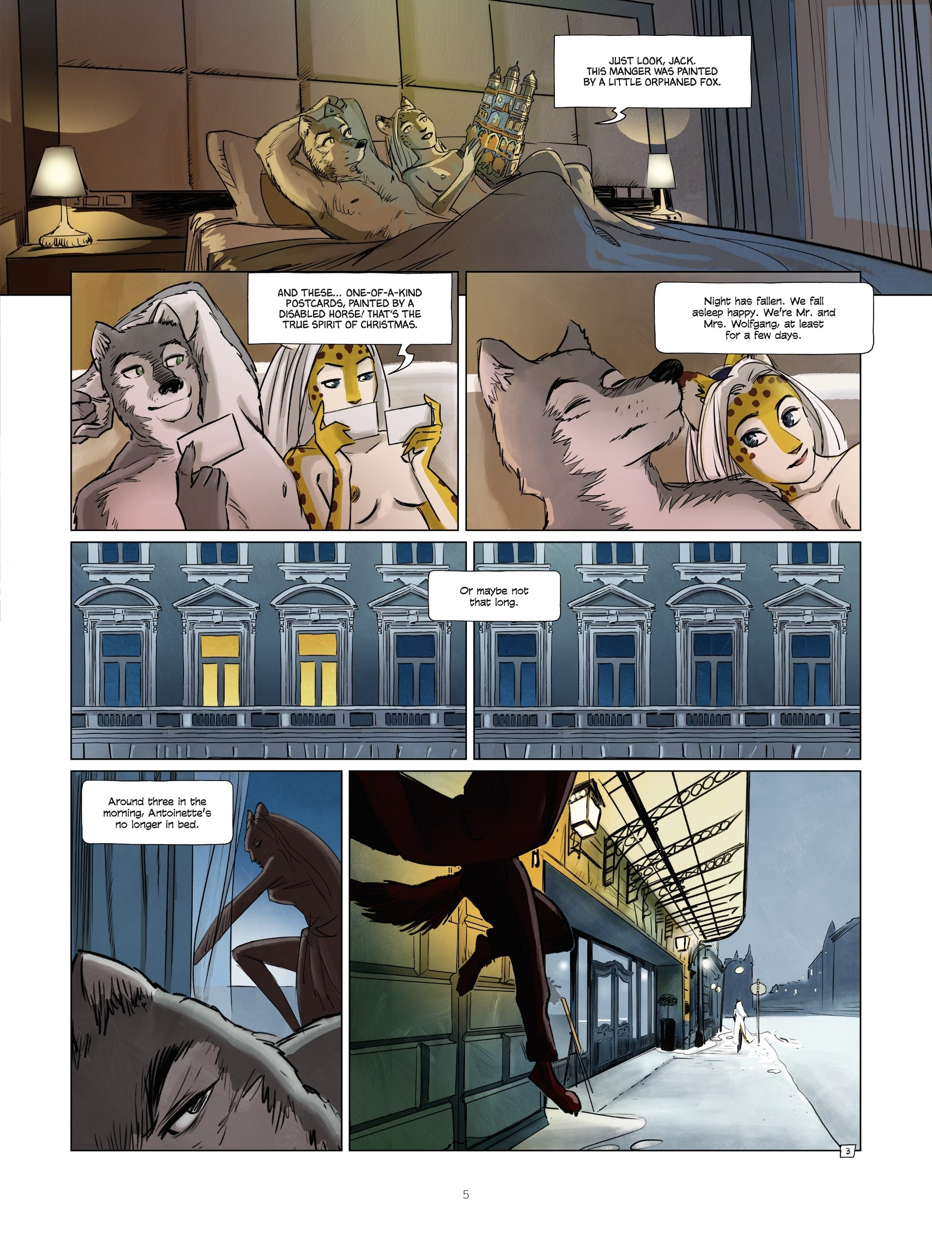Read online Jack Wolfgang comic -  Issue #3 - 7