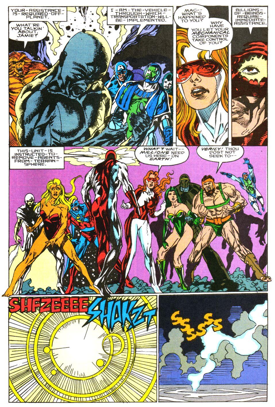 Read online Alpha Flight Special comic -  Issue #3 - 21