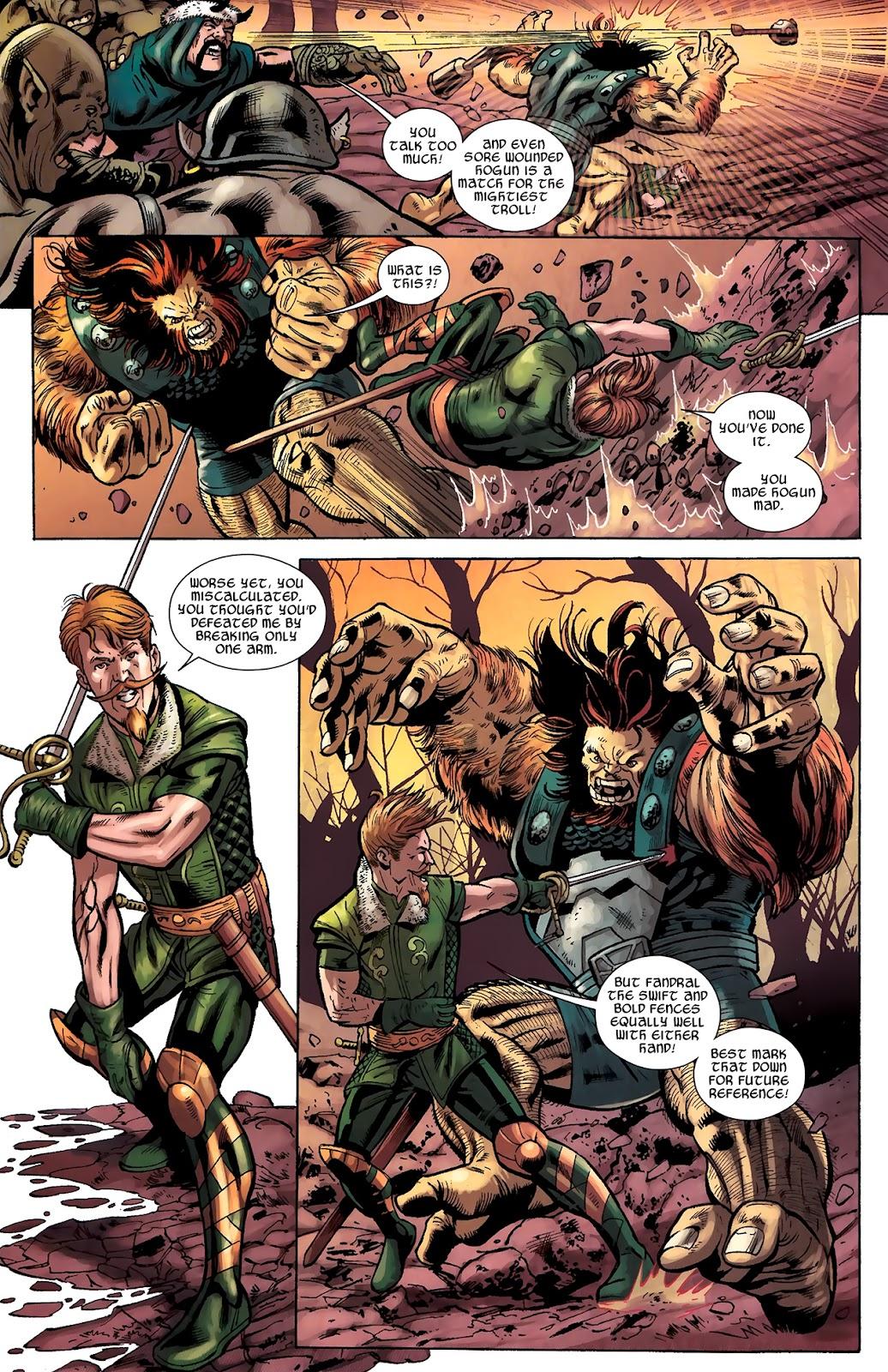 Warriors Three Issue #2 #2 - English 4