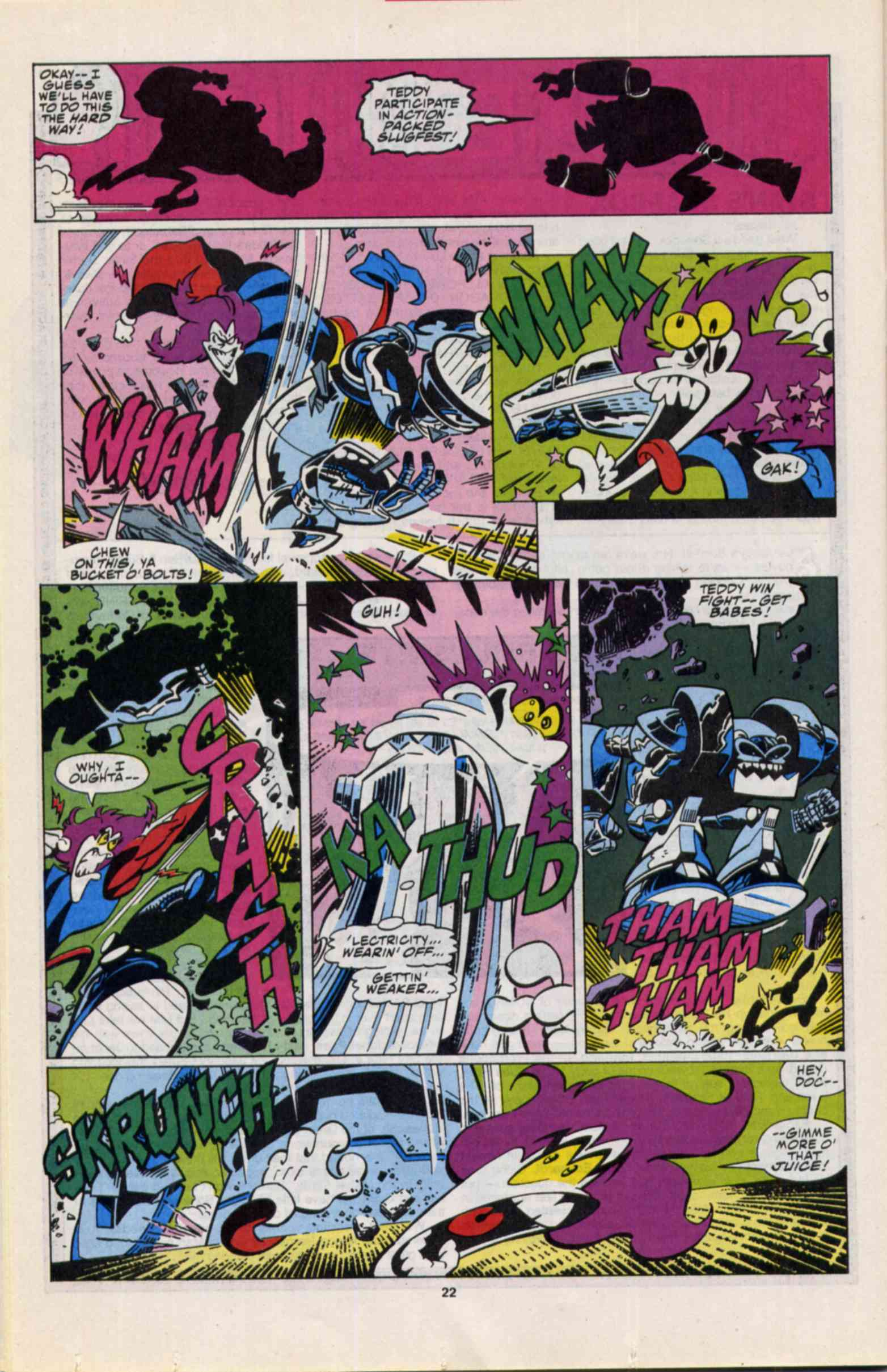 Read online Slapstick comic -  Issue #3 - 17